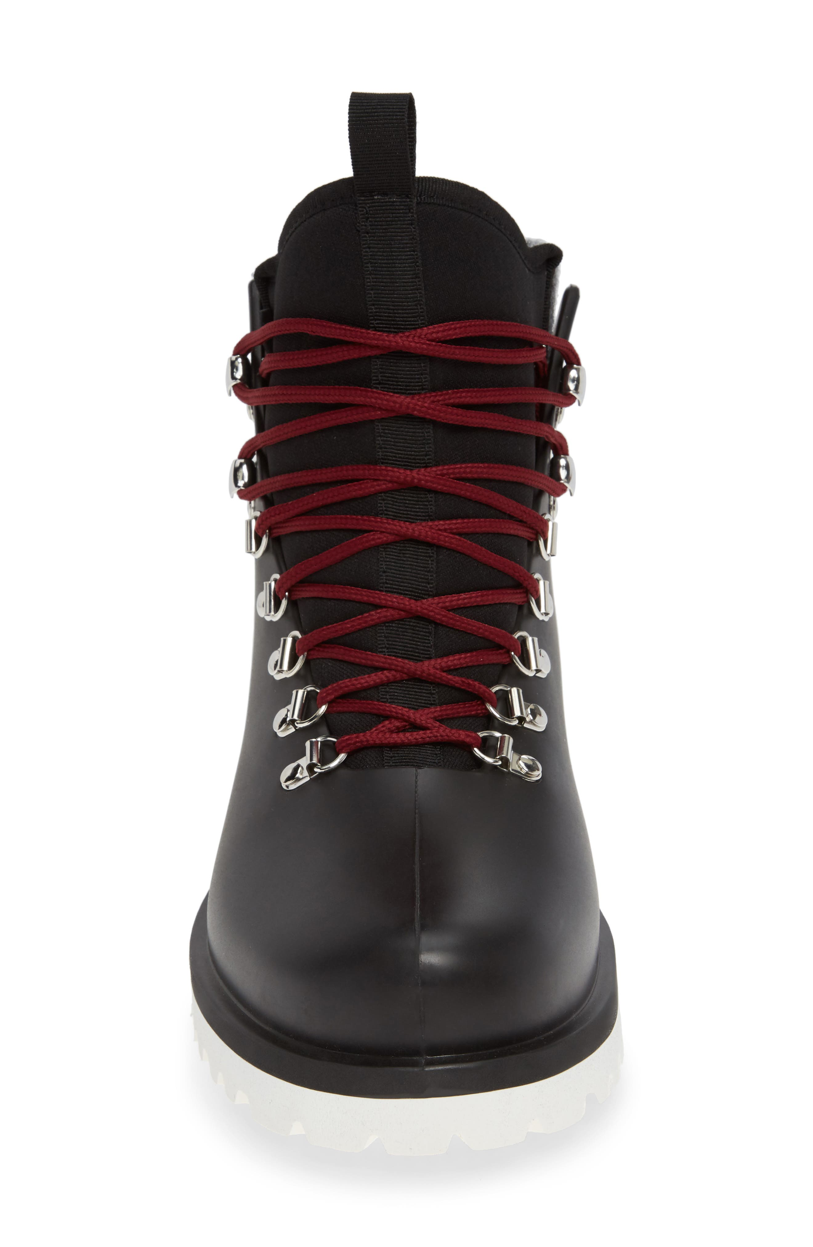 Brother x Frère Alpine Rain Boot,                             Alternate thumbnail 4, color,                             BLACK