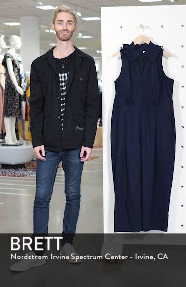 Pleat Collar Sleeveless Jumpsuit, sales video thumbnail