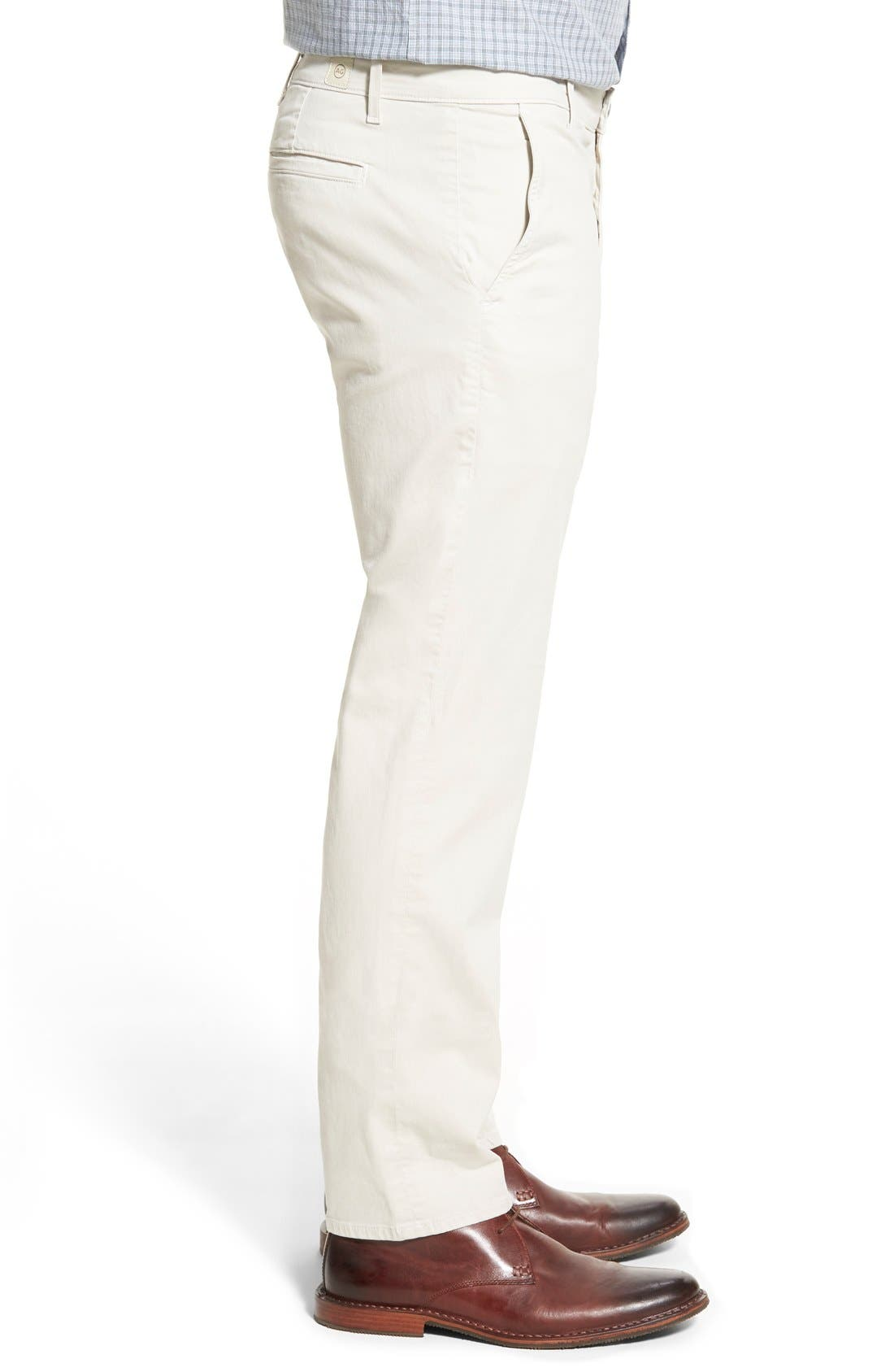 'The Lux' Tailored Straight Leg Chinos,                             Alternate thumbnail 40, color,