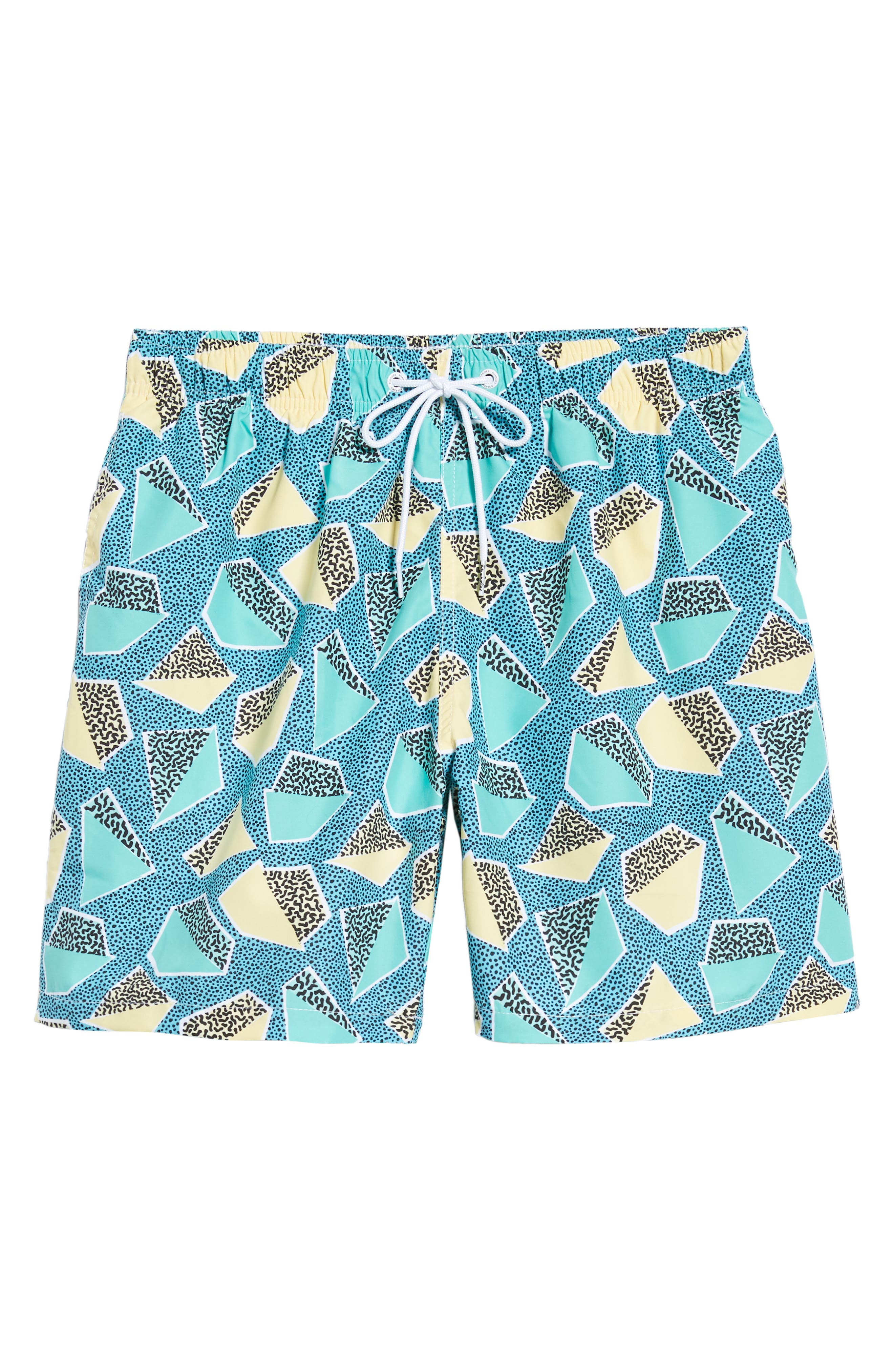 Everglades Swim Trunks,                             Alternate thumbnail 6, color,                             GREEN