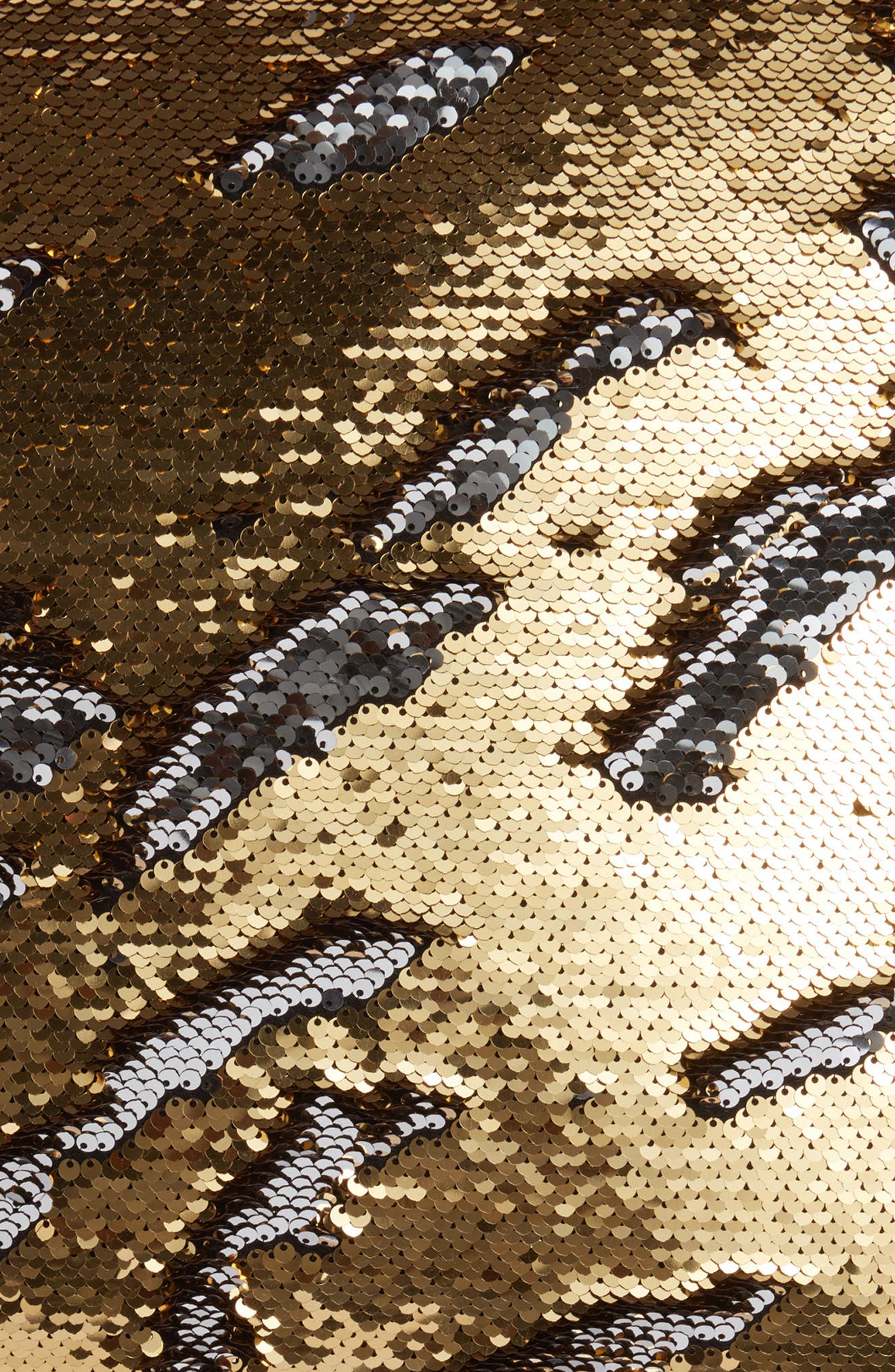 Sequin Pillow,                             Alternate thumbnail 3, color,                             GOLD