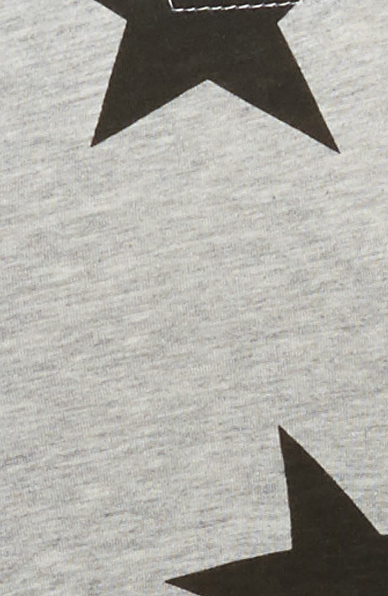 Star Print Layered Dress,                             Alternate thumbnail 3, color,                             050