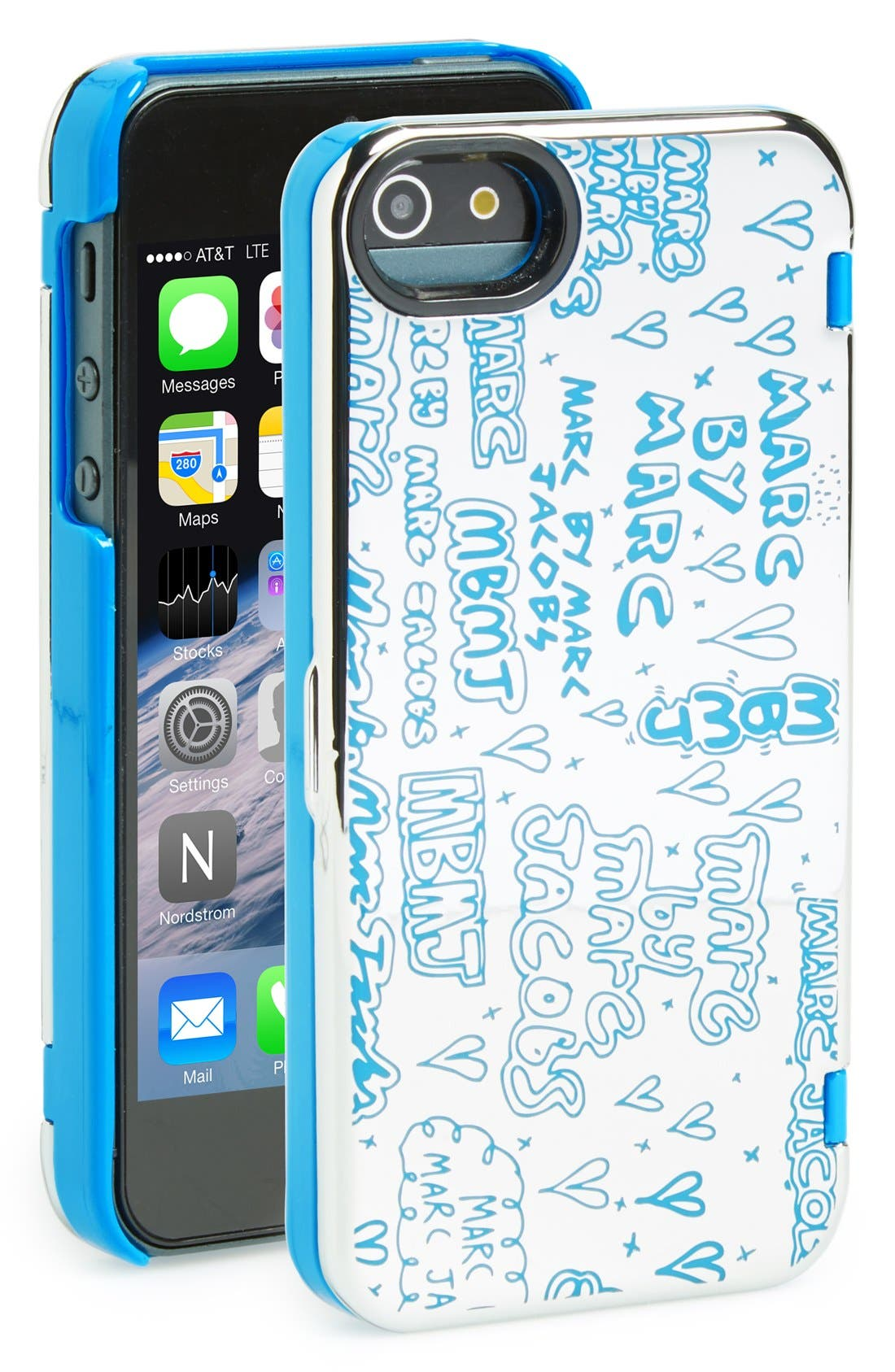 MARC BY MARC JACOBS 'Scribble' Mirror iPhone 5 & 5s Case,                             Main thumbnail 1, color,                             040