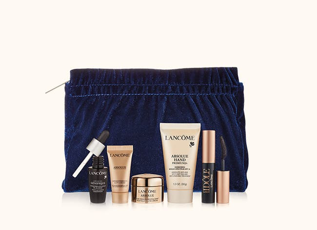 Get a free gift with your $42.50 Lancôme purchase. A $98 value.