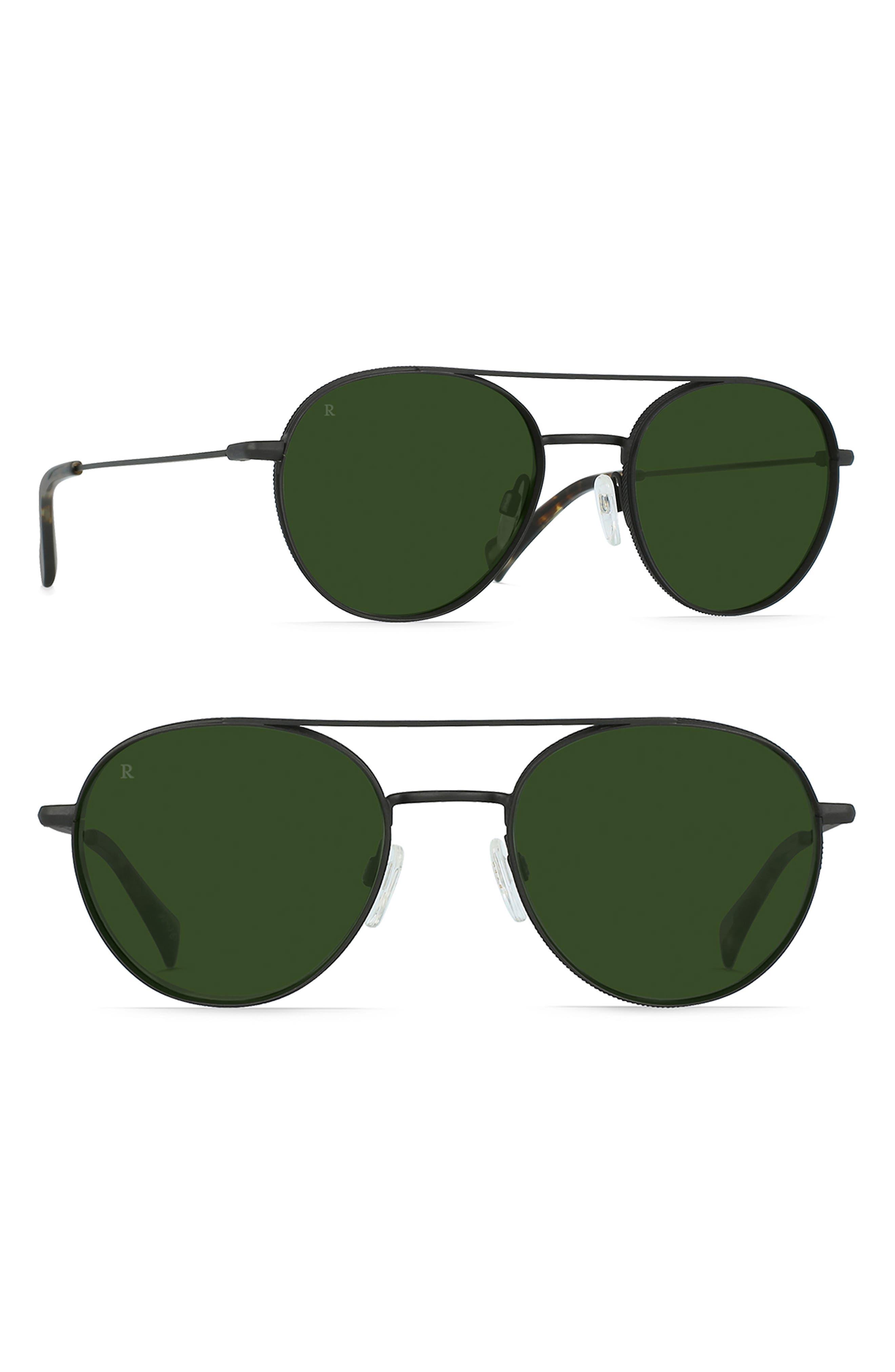 RAEN Aliso 51Mm Sunglasses - Black/ Brindle/ Bottle Green
