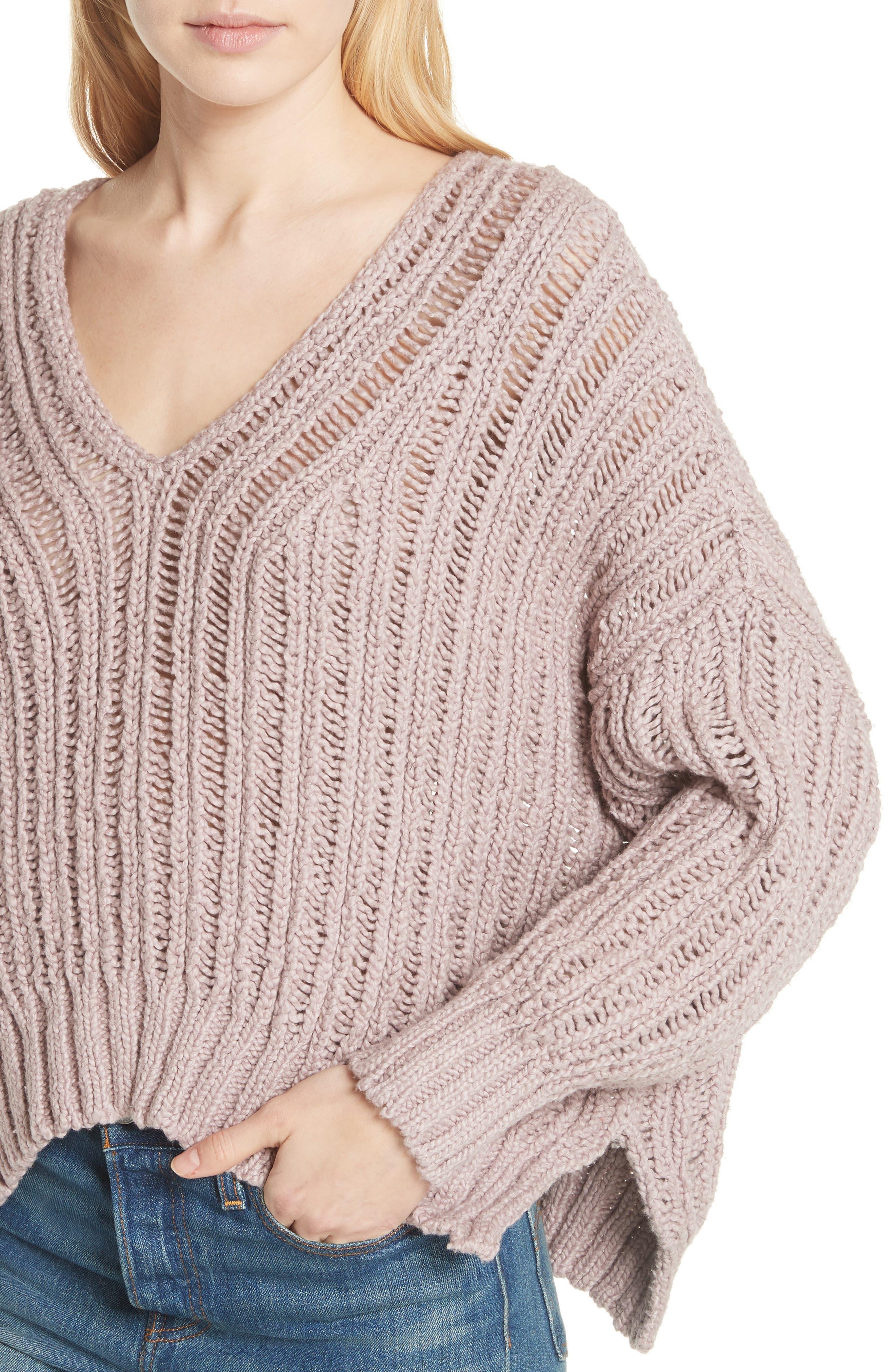 Infinite V-Neck Sweater,                             Alternate thumbnail 10, color,