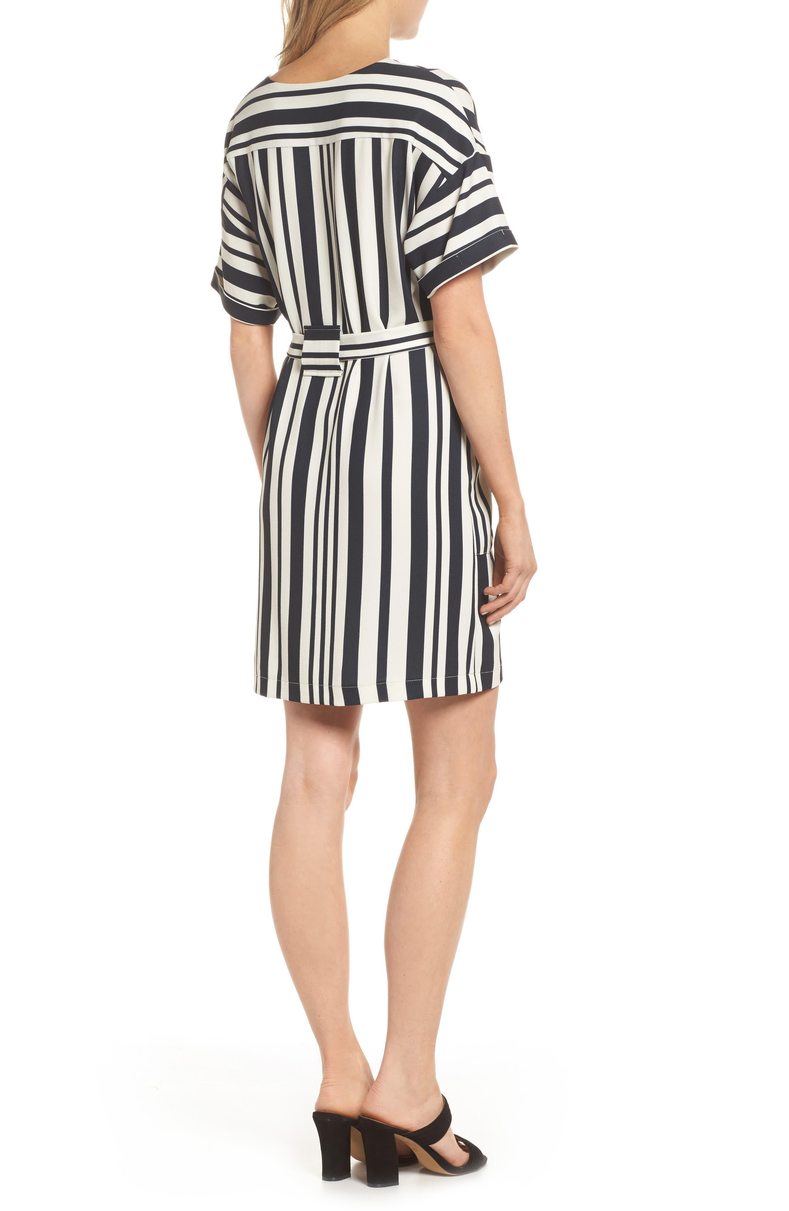 Sterling Stripe Dress,                             Alternate thumbnail 2, color,                             900