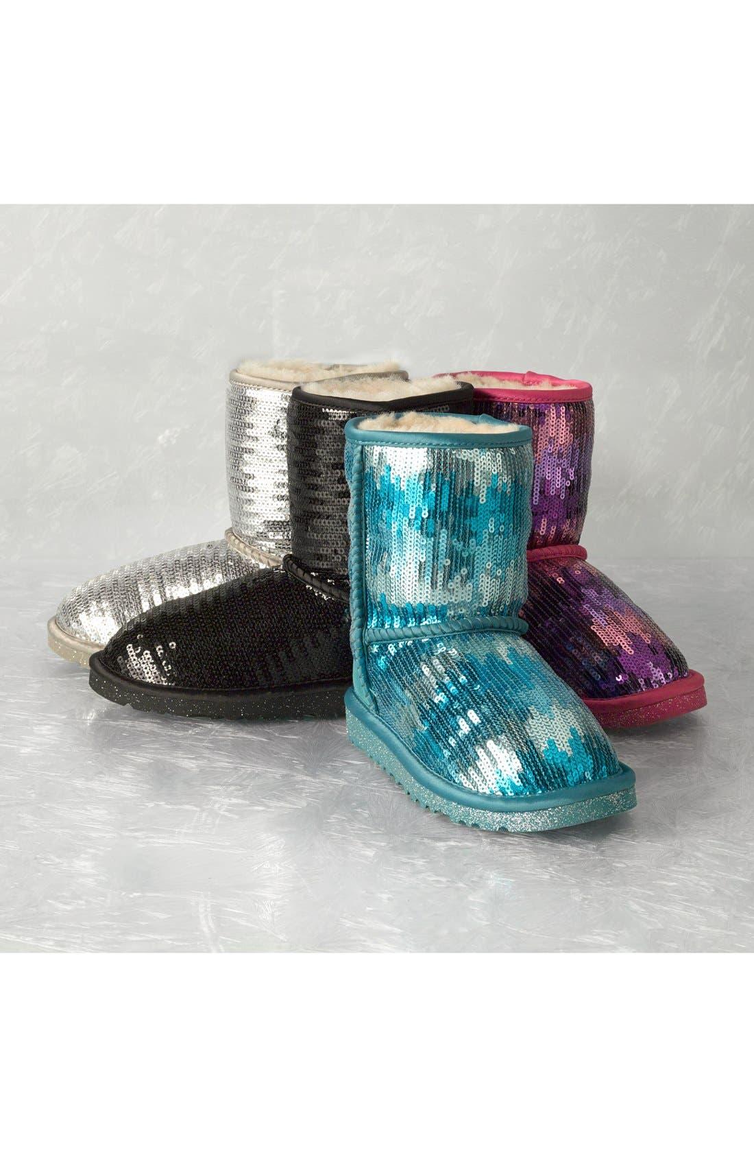 'Classic Short Sparkle' Boot,                             Alternate thumbnail 25, color,