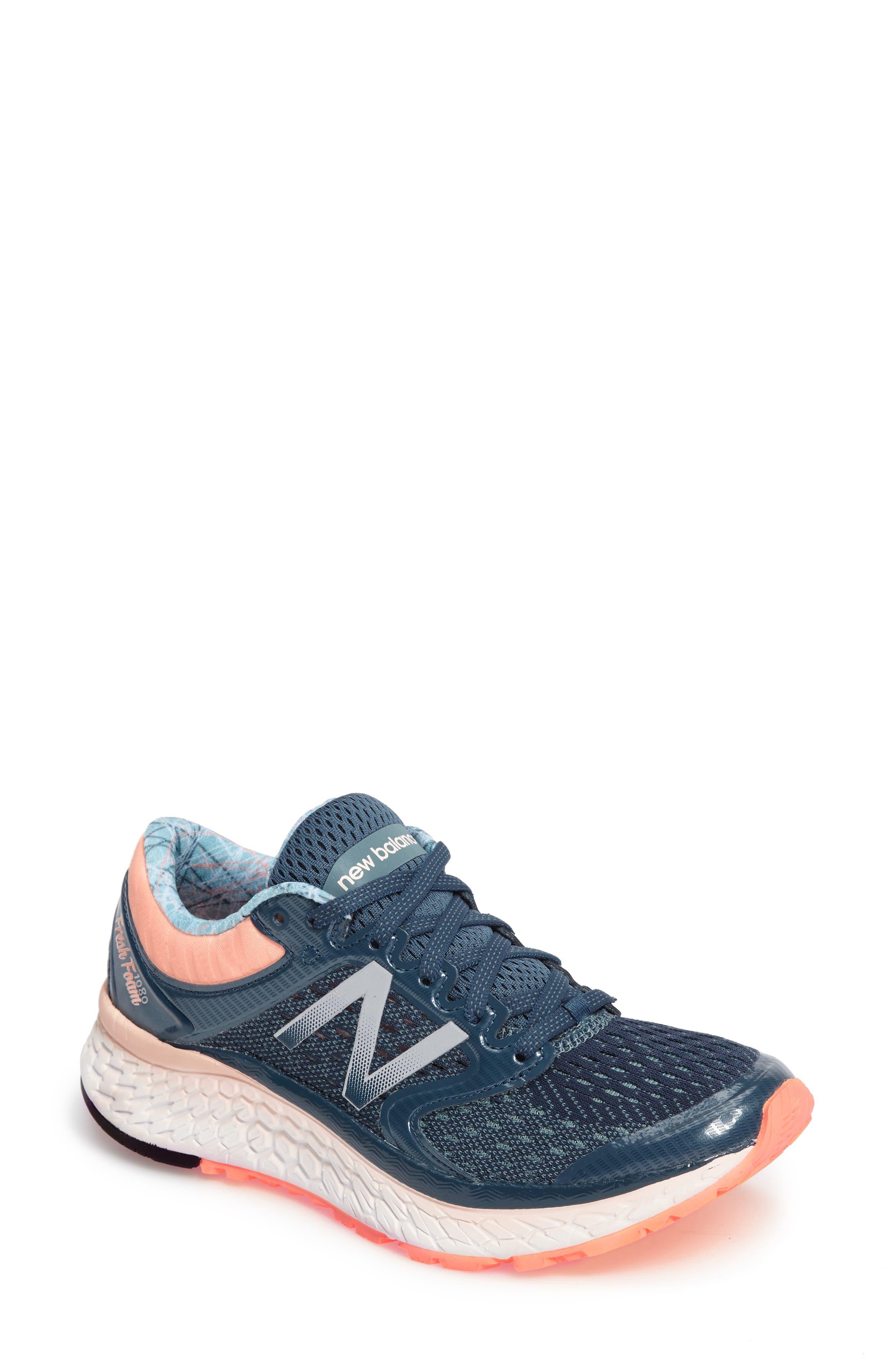 '1080 - Fresh Foam' Running Shoe,                             Main thumbnail 4, color,