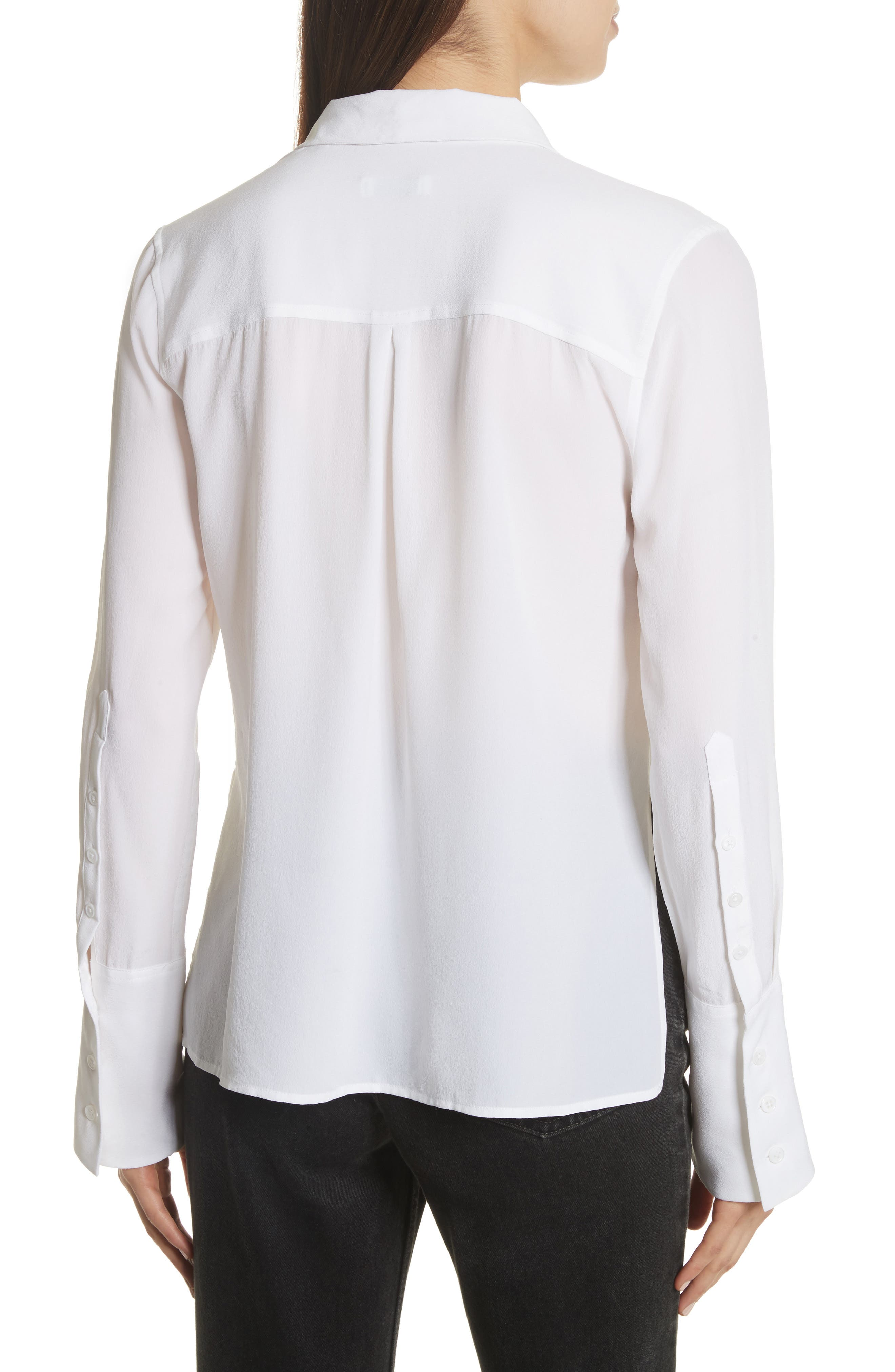 Darla Bell Cuff Shirt,                             Alternate thumbnail 5, color,