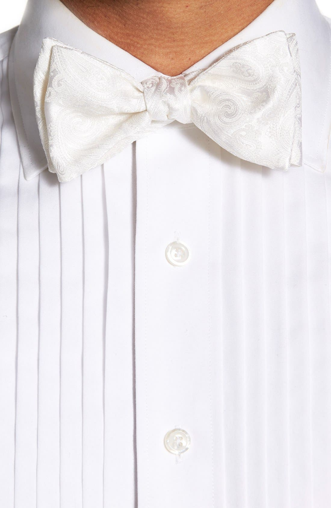 'Protocol' Paisley Silk Cummerbund & Bow Tie Set,                             Alternate thumbnail 3, color,