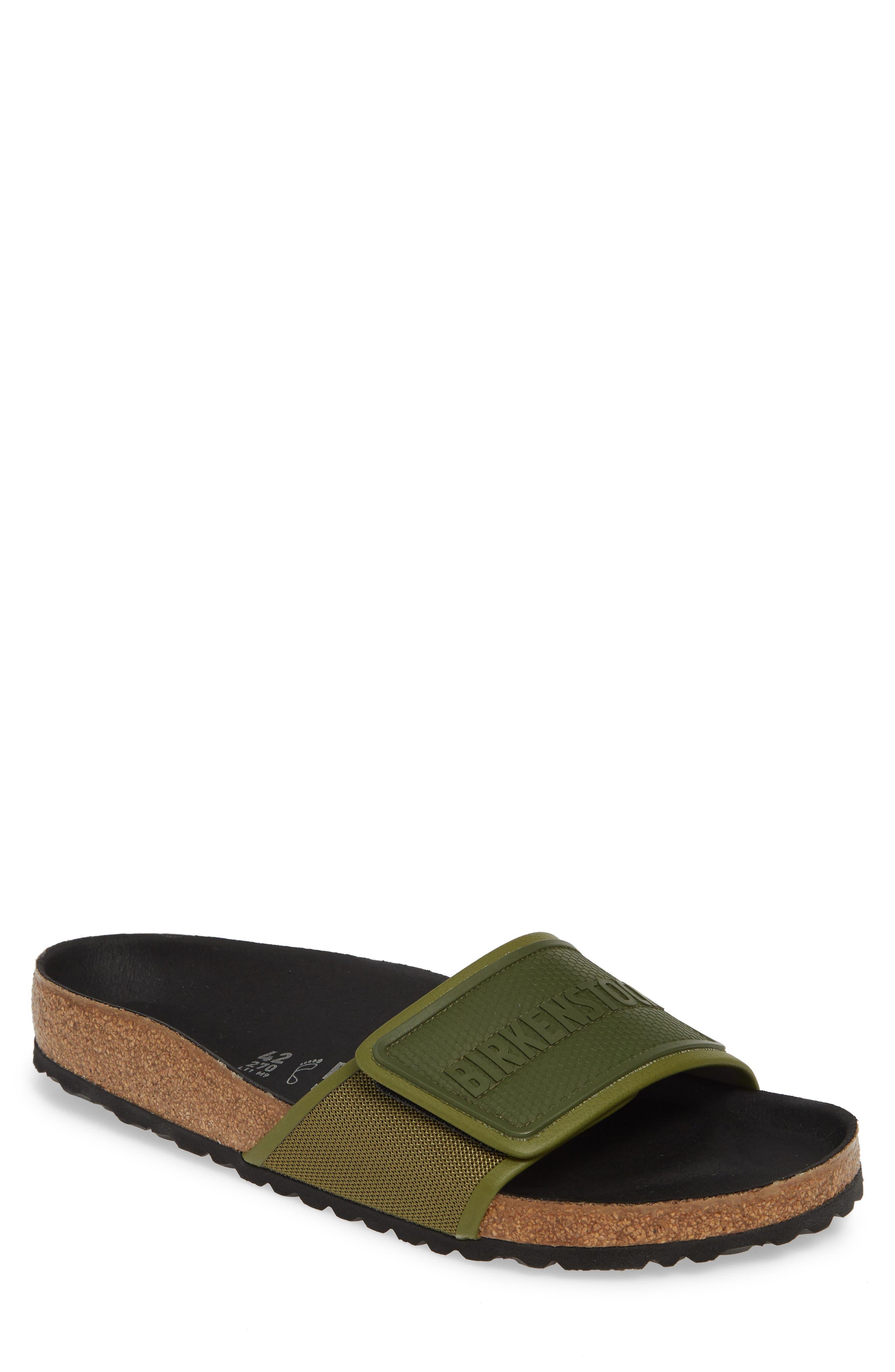 Birkenstock Tema Slide Sandal,13.5 - Green