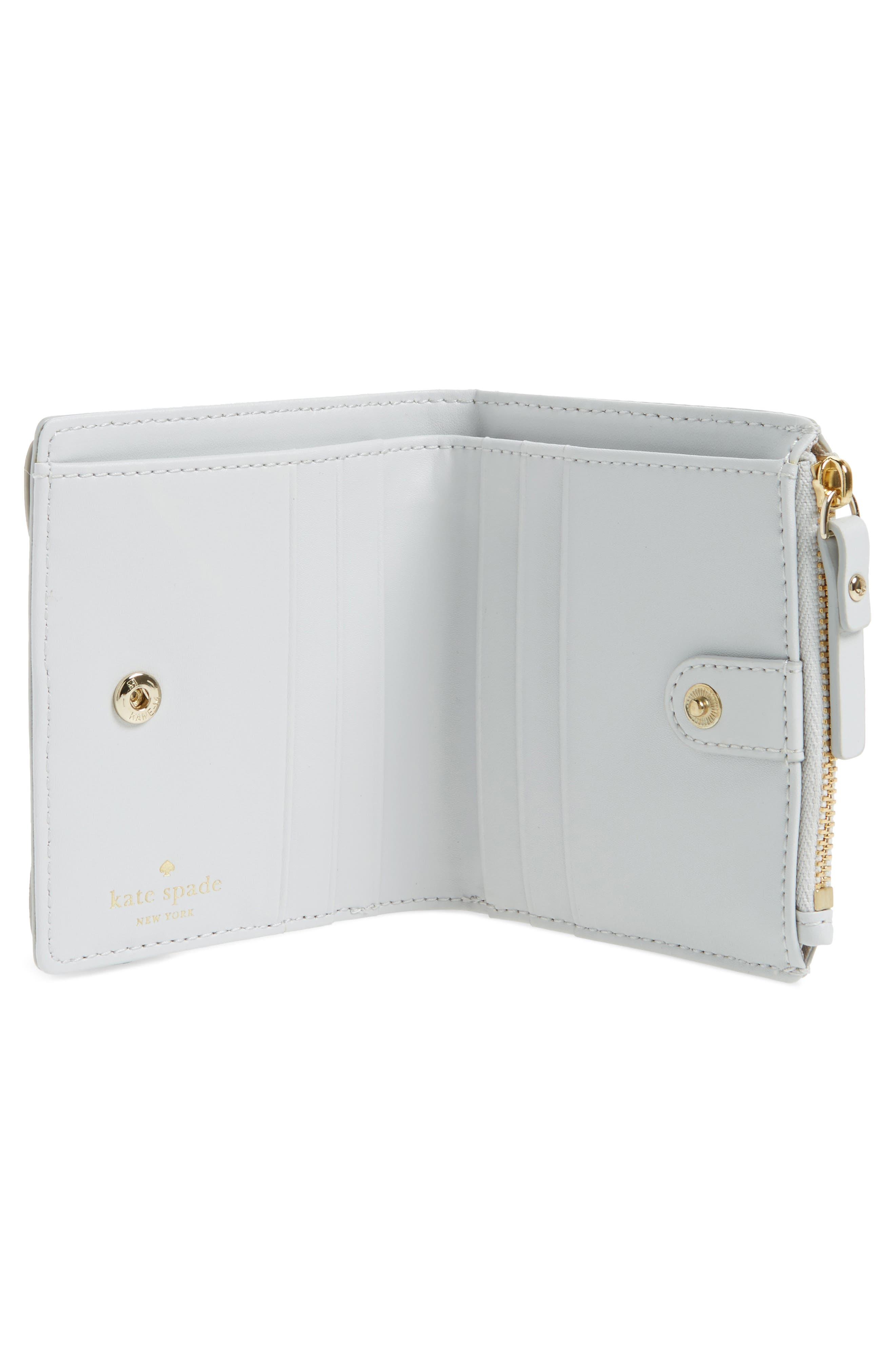 starbright owl adalyn leather card wallet,                             Alternate thumbnail 2, color,                             100