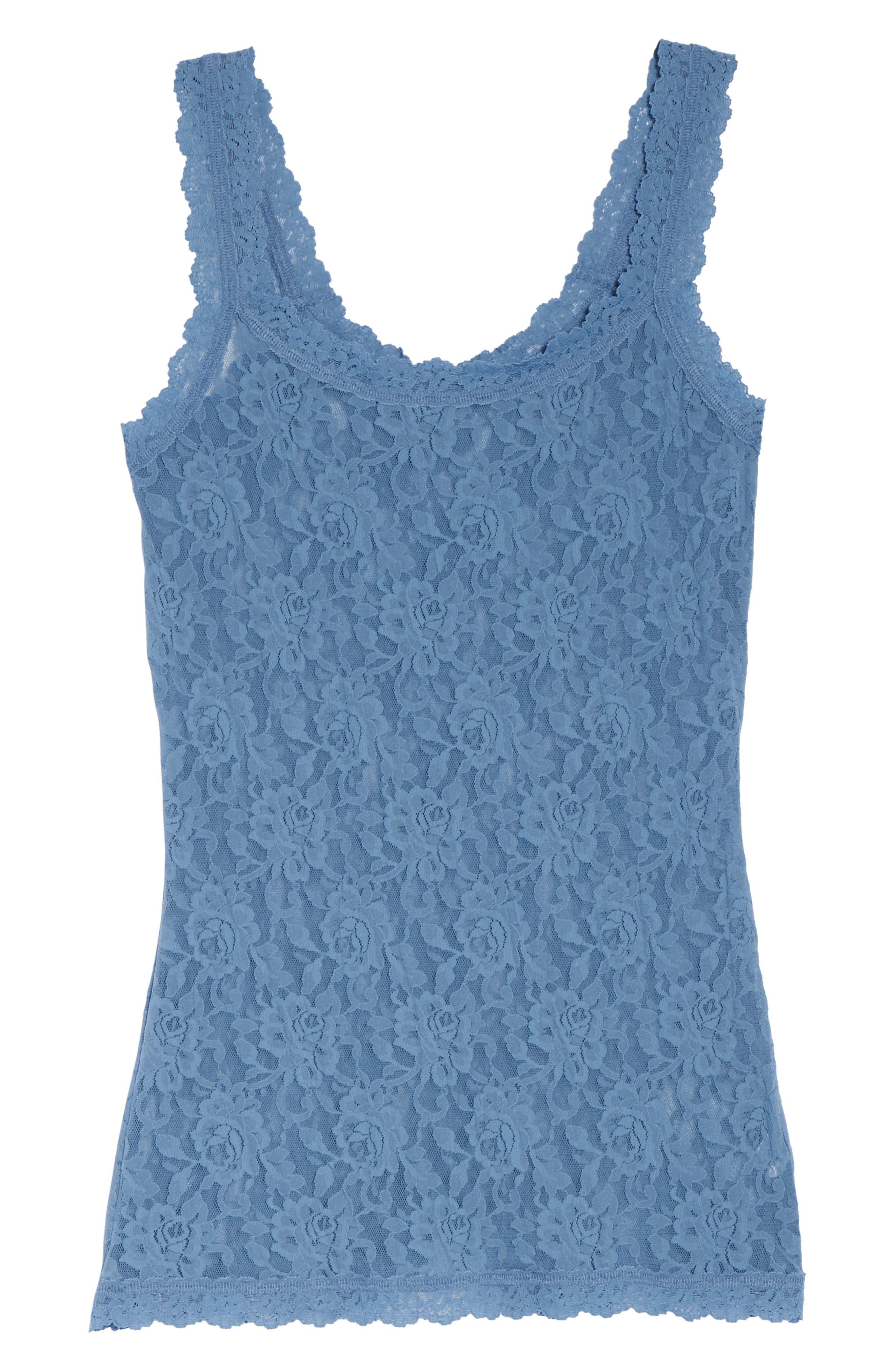 'Signature Lace' Camisole,                             Alternate thumbnail 5, color,                             401