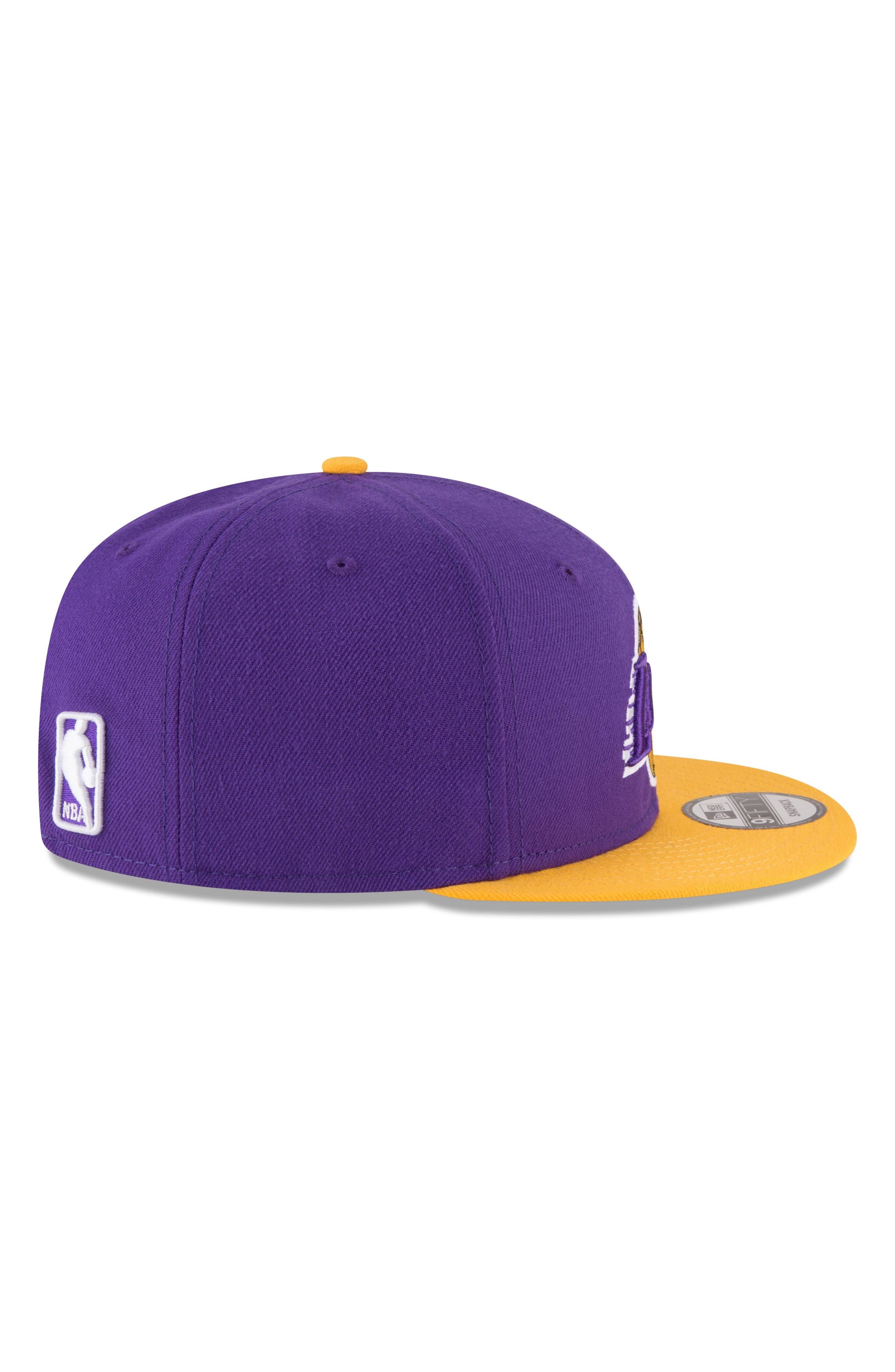 9FIFTY LA Lakers Two-Tone Cap,                             Alternate thumbnail 2, color,                             PURPLE