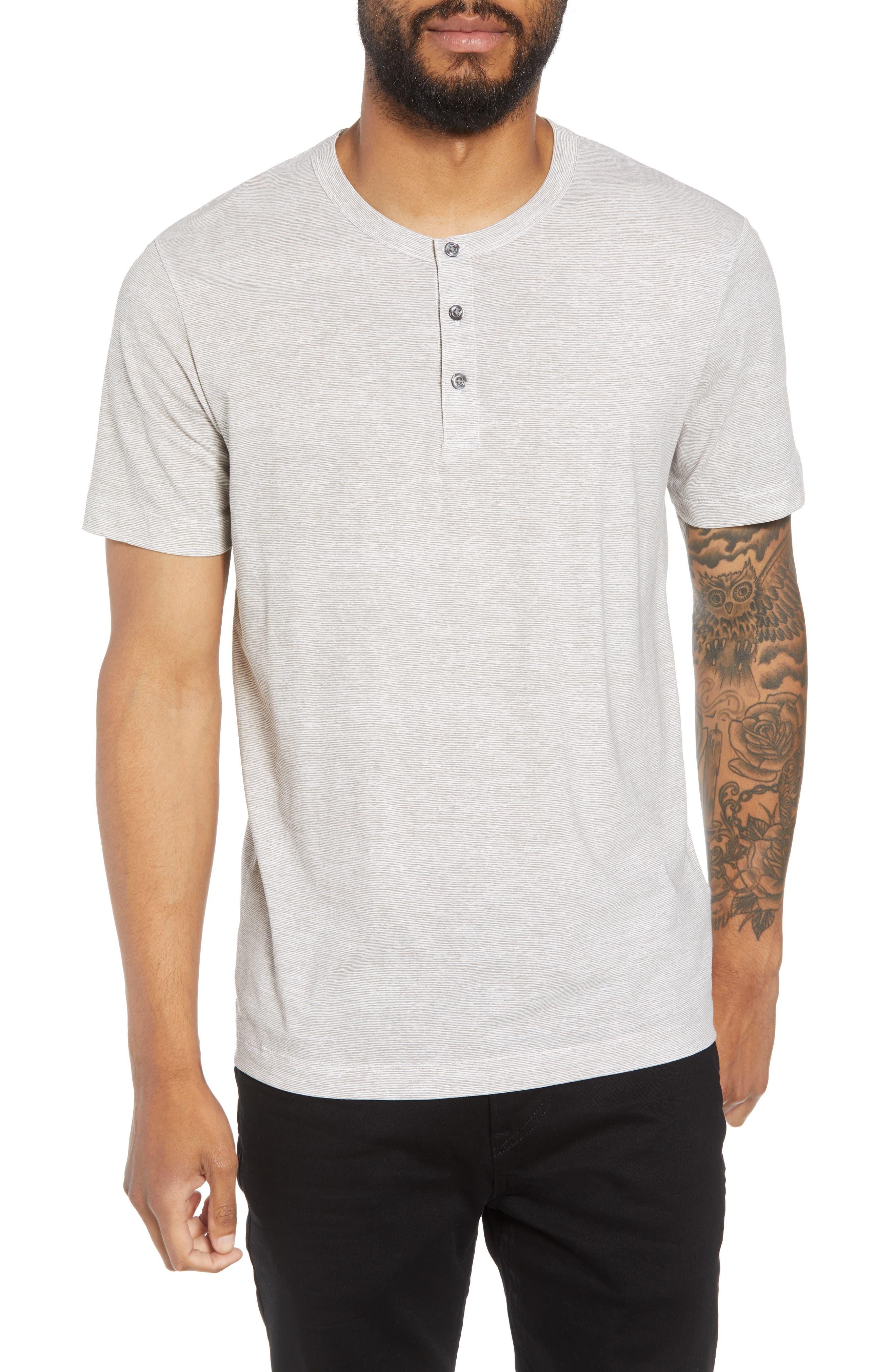 Essential Regular Fit Short Short Sleeve Henley,                         Main,                         color, 021
