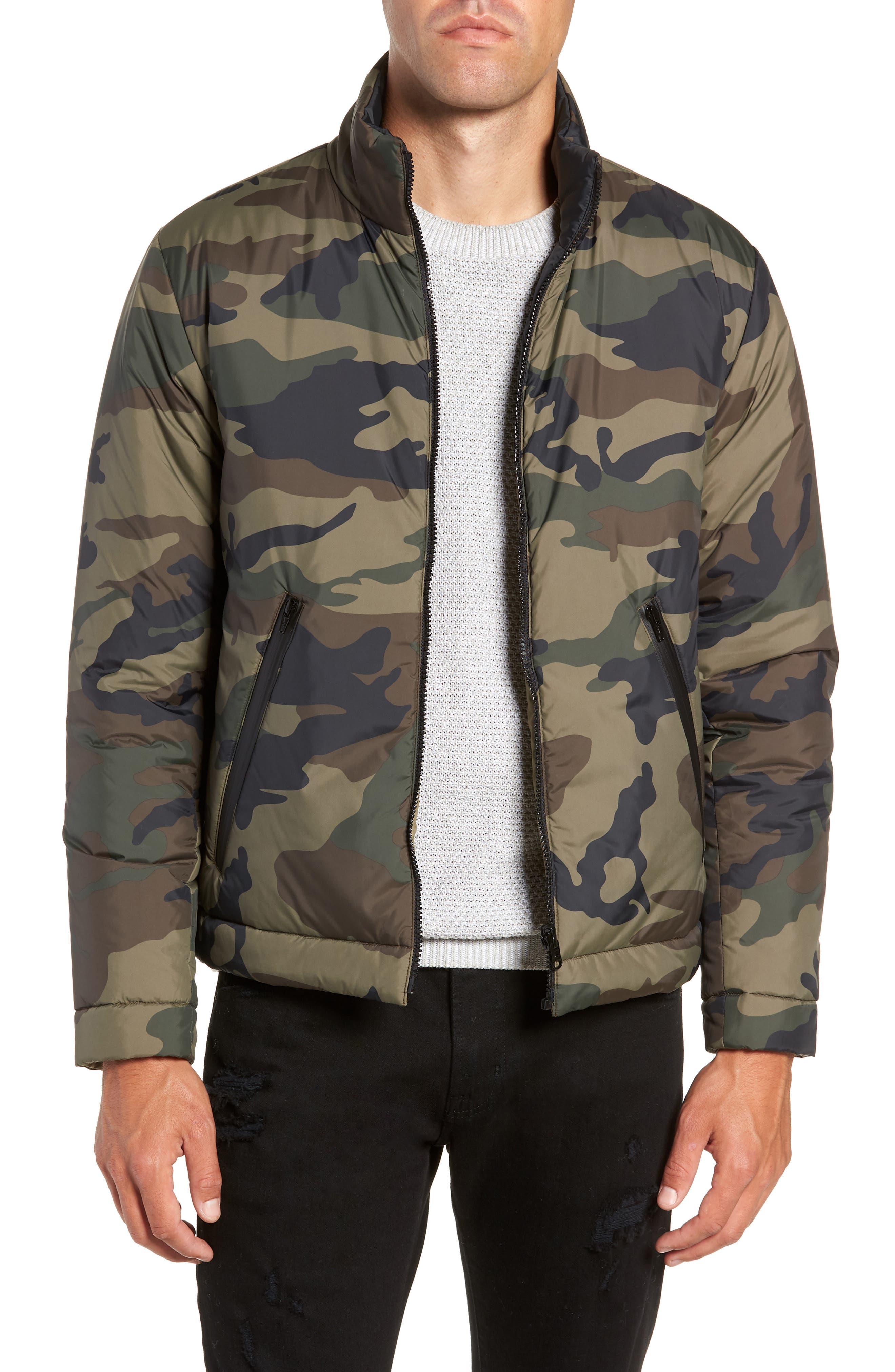 Buckhorn Slim Reversible Jacket,                             Main thumbnail 1, color,                             SPRIG