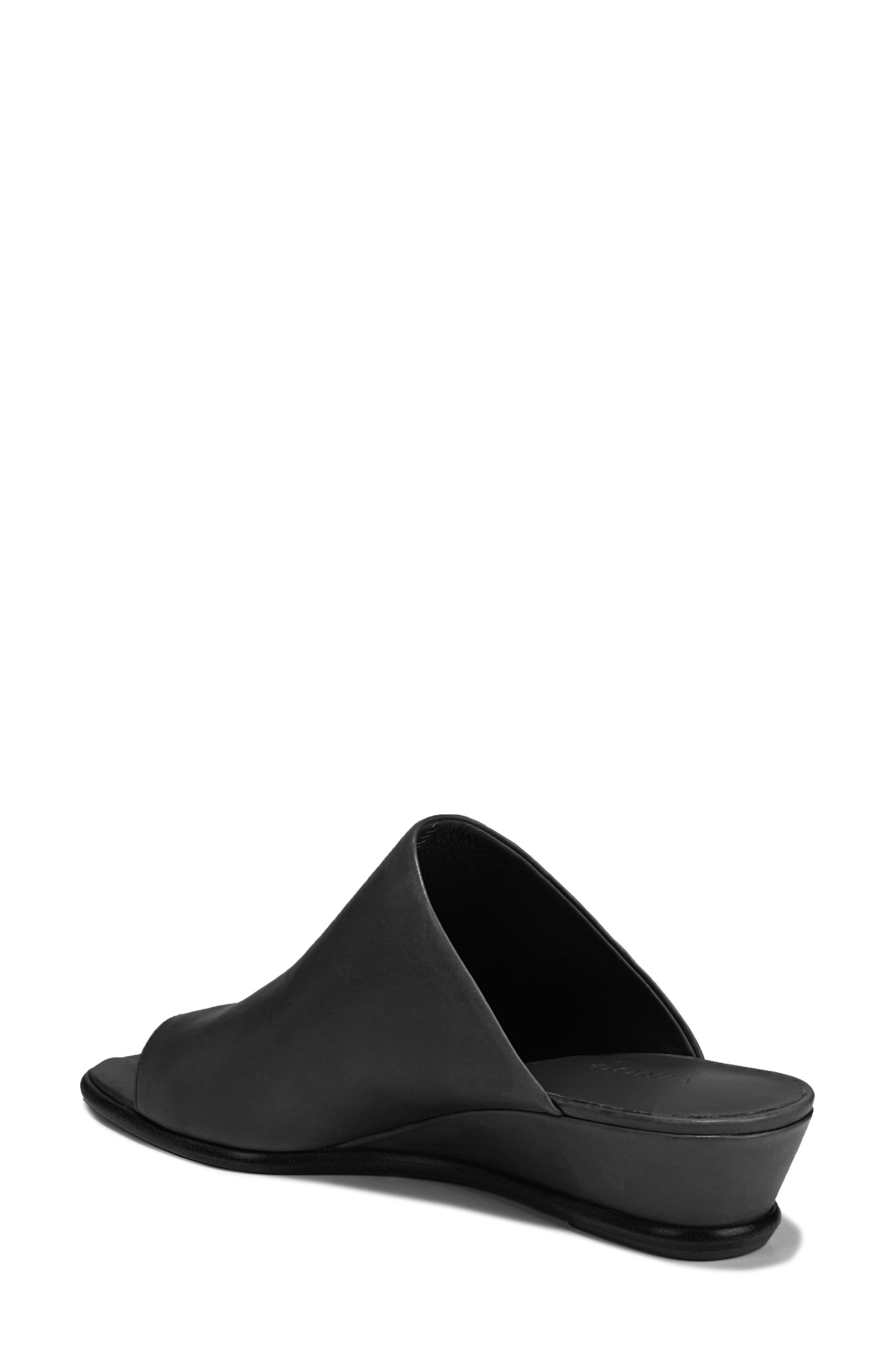 VINCE,                             Darla Slide Sandal,                             Alternate thumbnail 2, color,                             BLACK