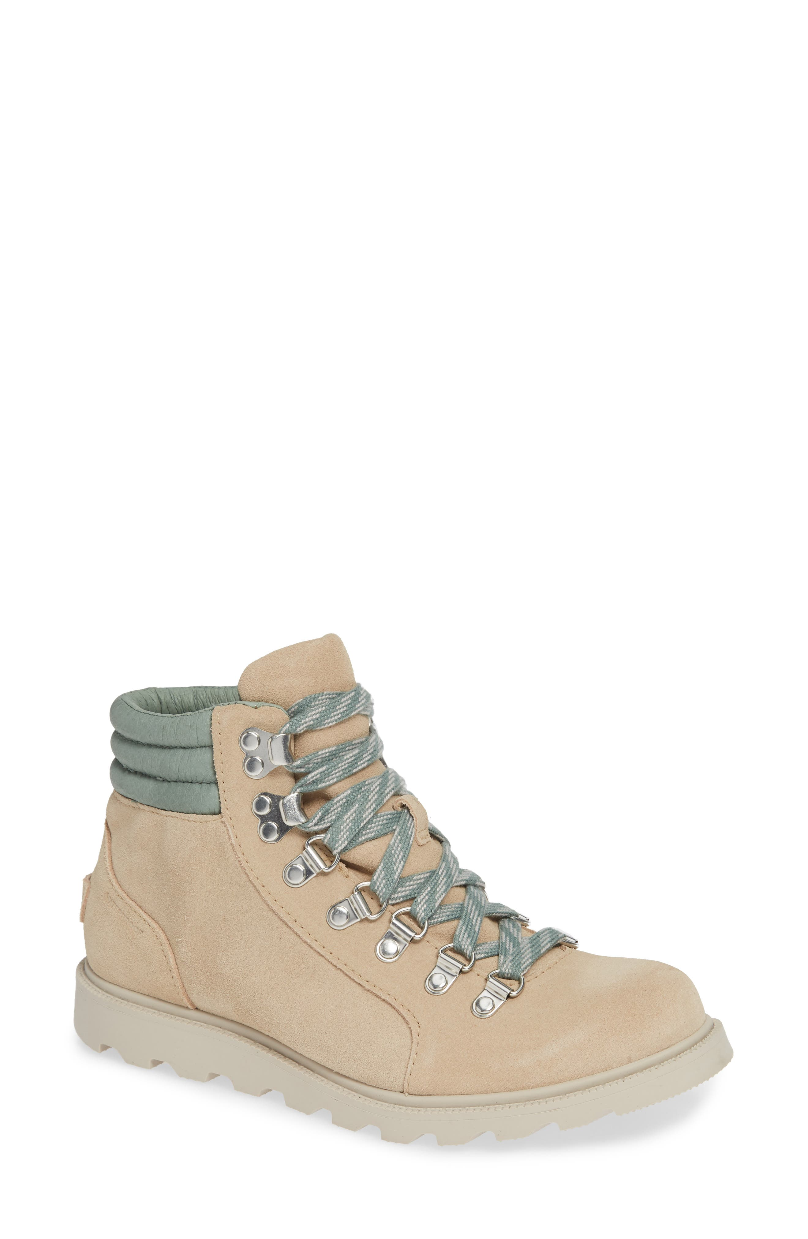 Ainsley Conquest Waterproof Boot,                             Main thumbnail 1, color,                             OATMEAL