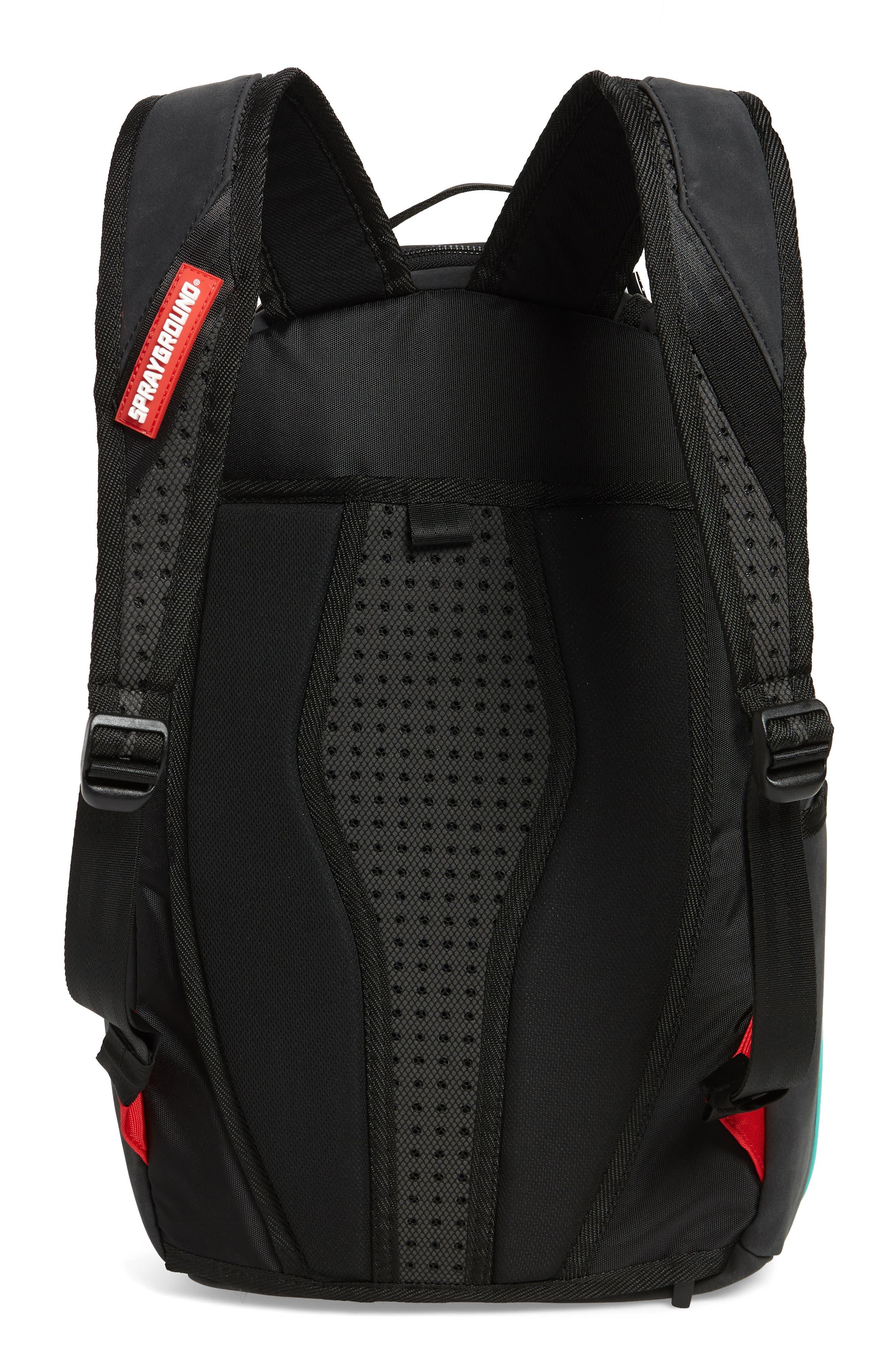 Tiff Shark Backpack,                             Alternate thumbnail 3, color,
