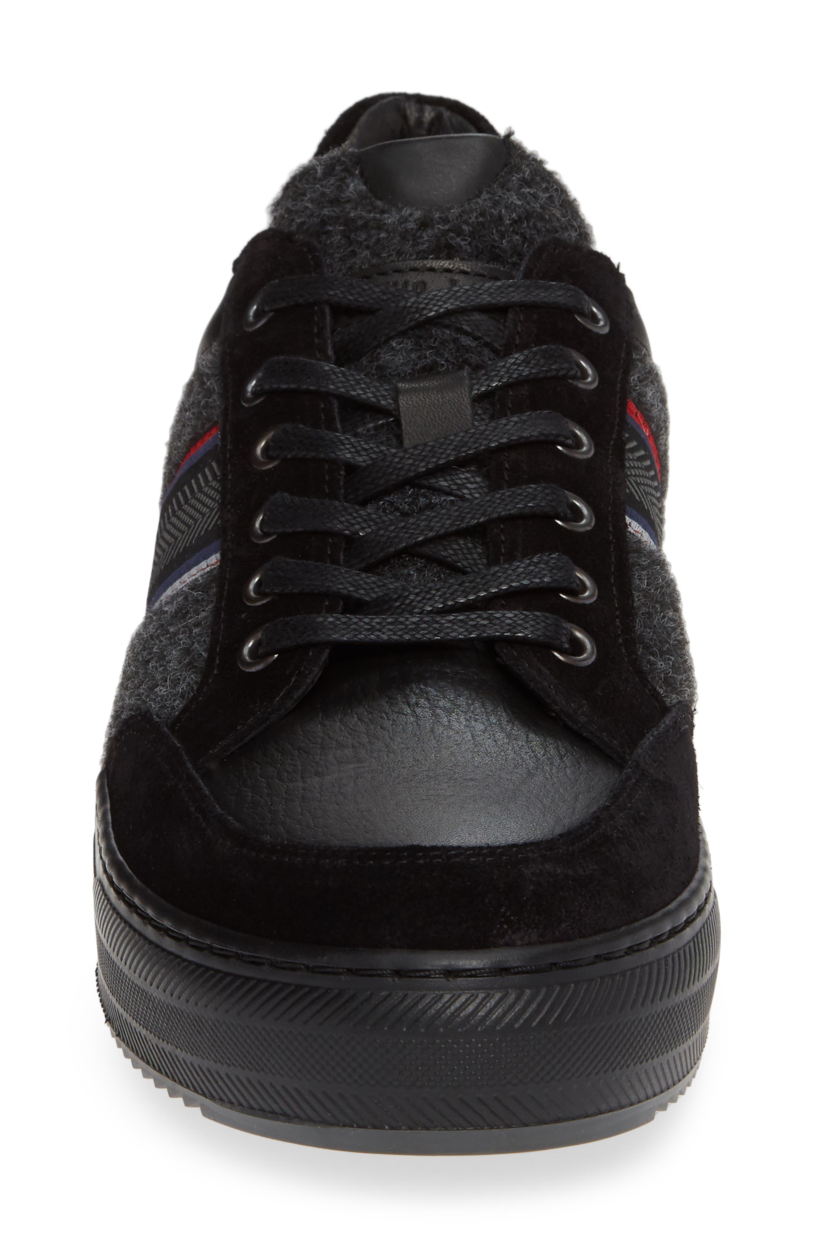 Poggio Sneaker,                             Alternate thumbnail 4, color,                             BLACK