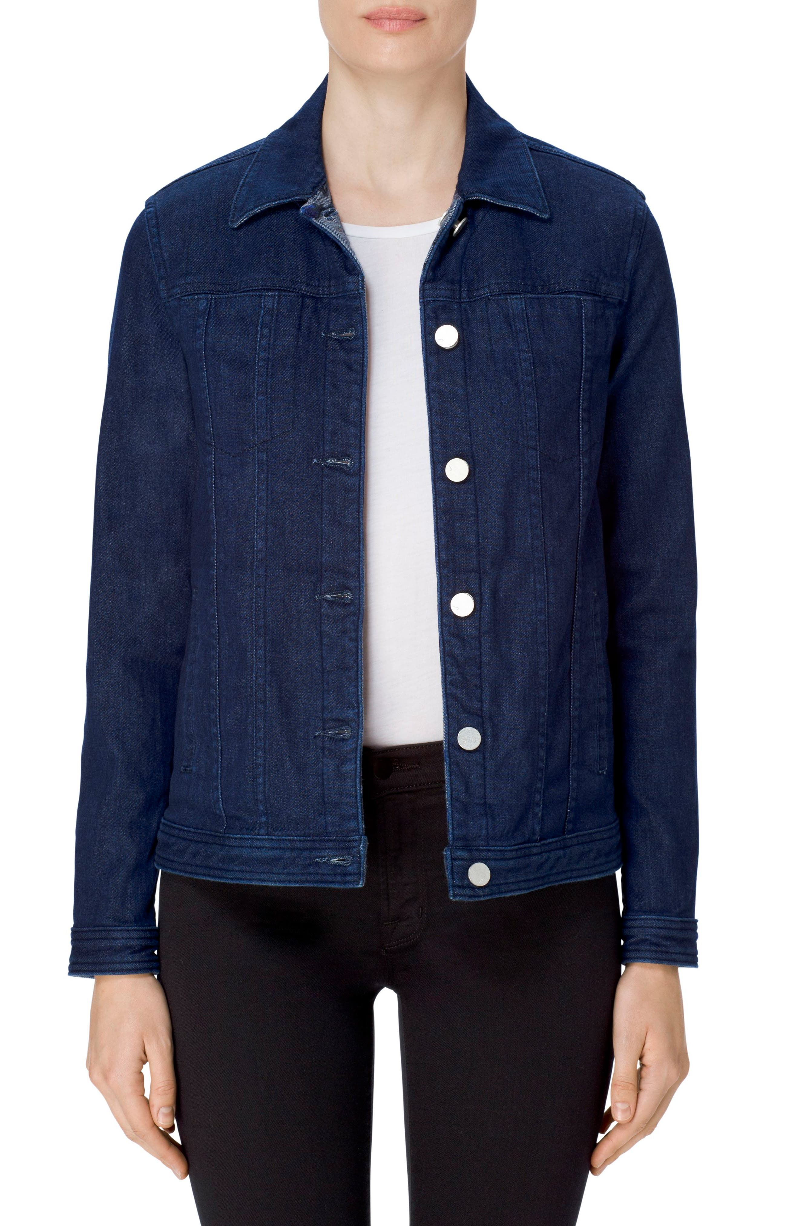 Cyra Reversible Denim Jacket,                         Main,                         color, 462