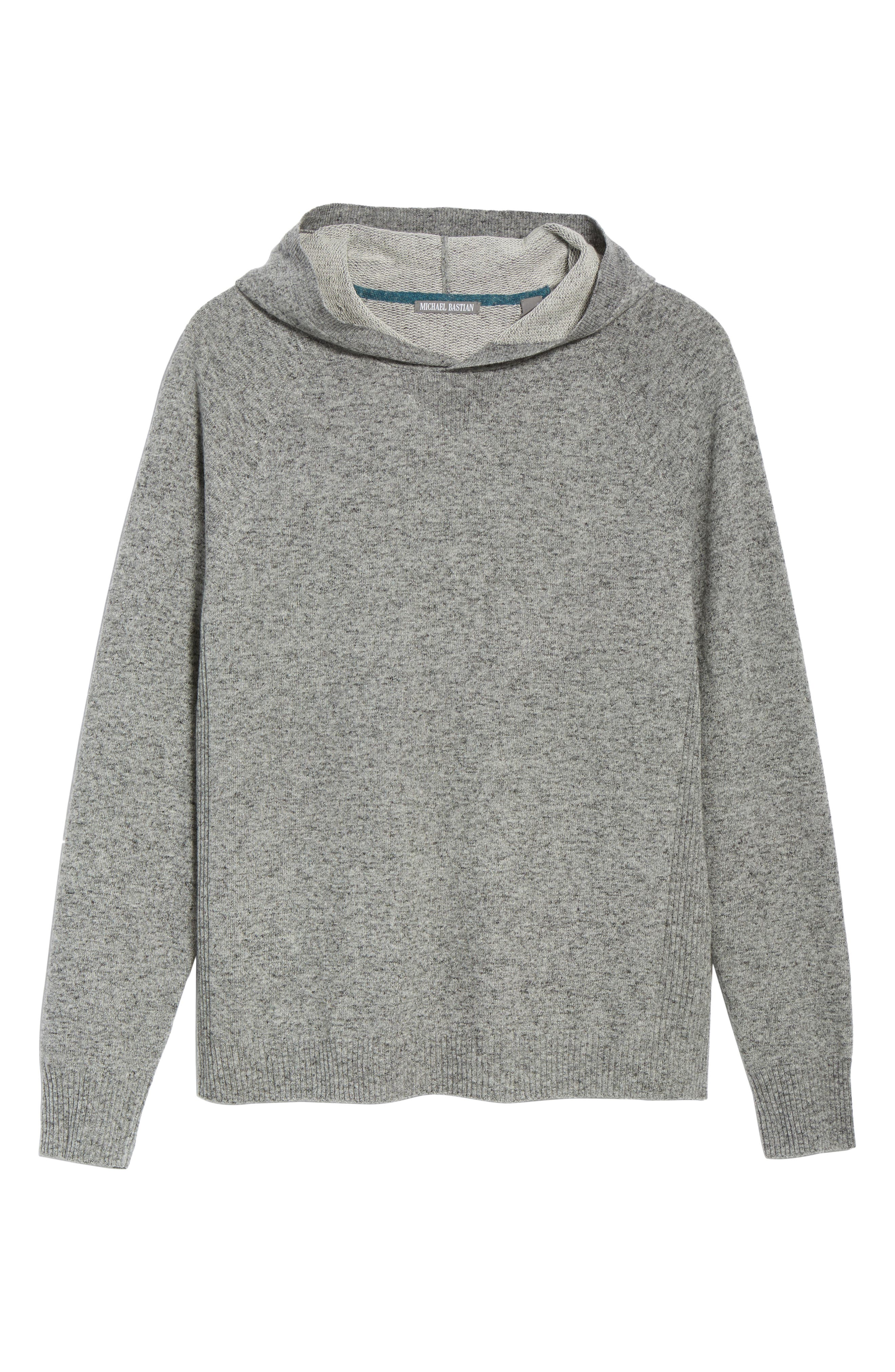 Hooded Sweater,                             Alternate thumbnail 6, color,                             060