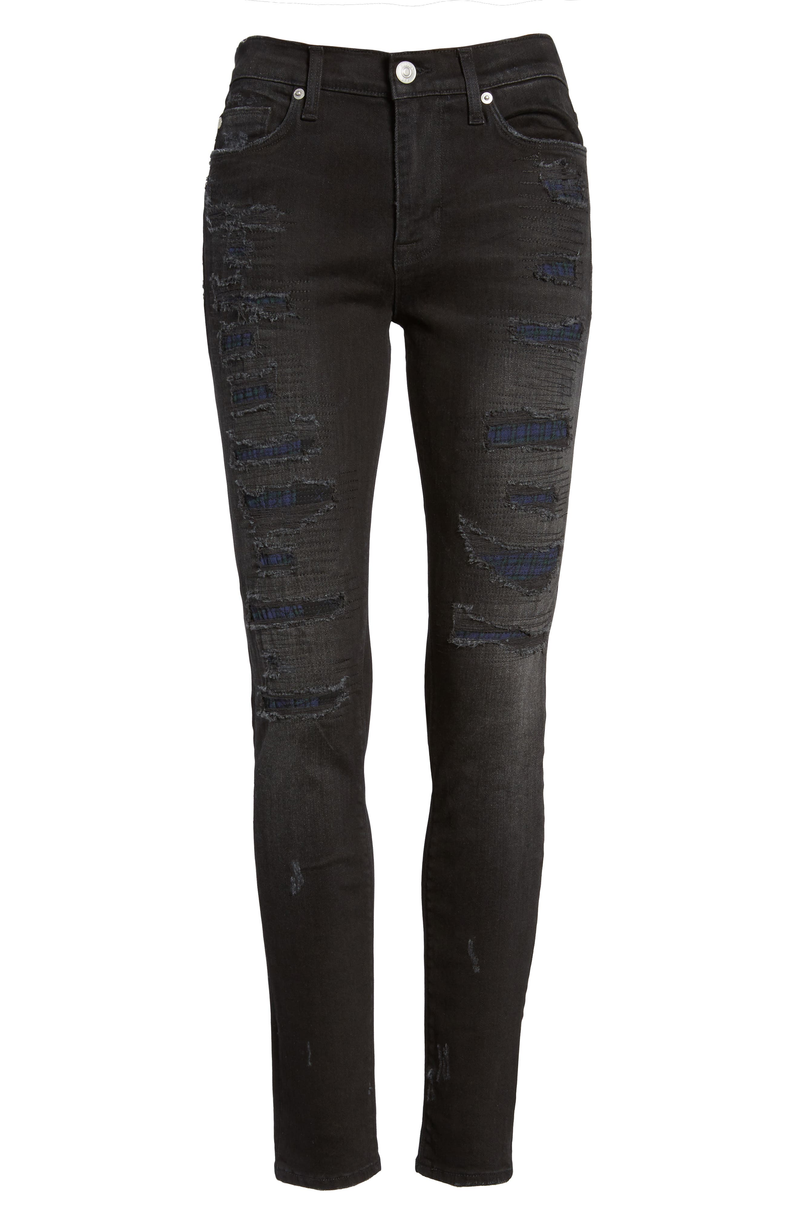 Nico Ripped Super Skinny Jeans,                             Alternate thumbnail 6, color,                             003