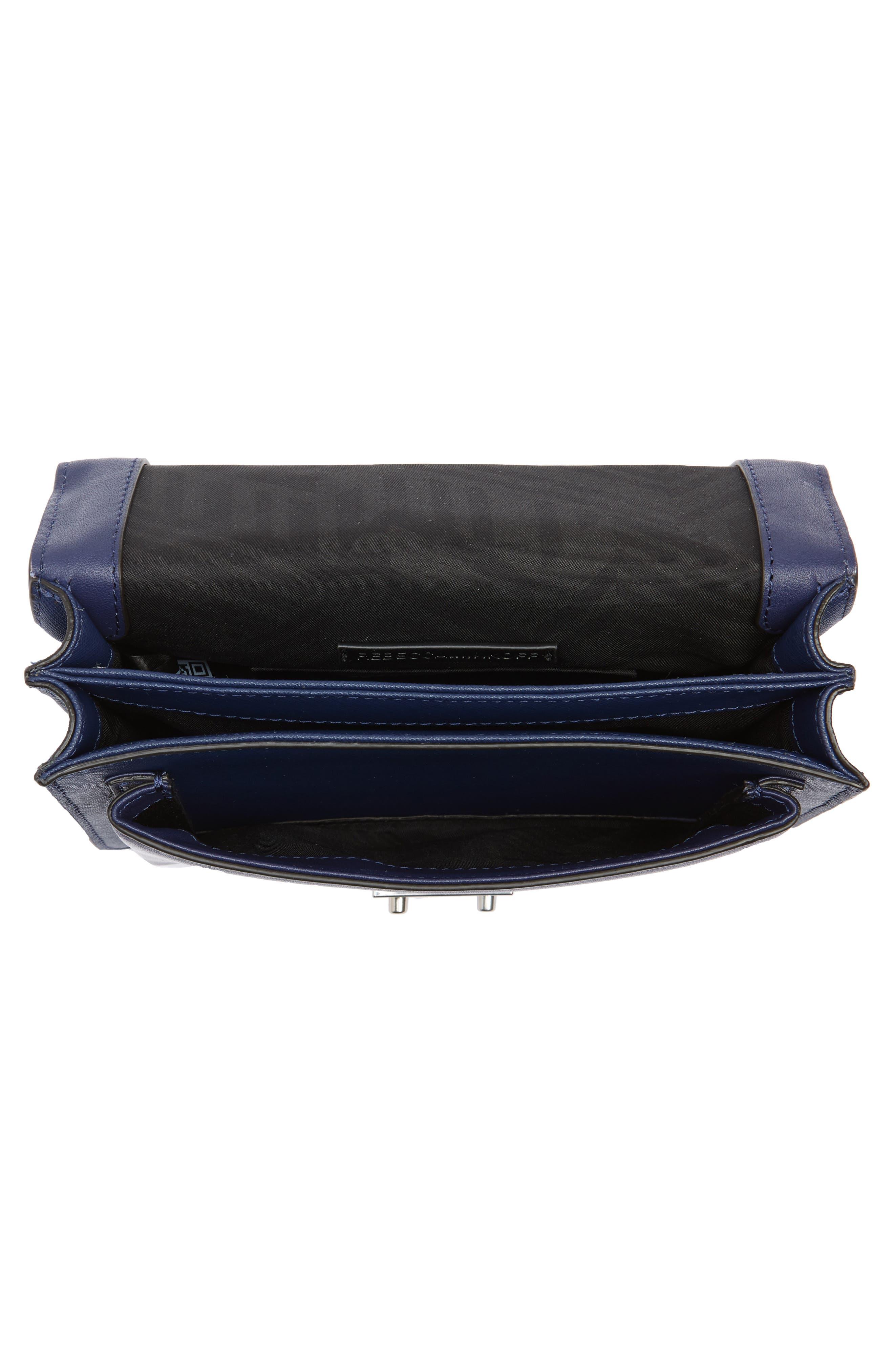 Medium Christy Leather Shoulder Bag,                             Alternate thumbnail 18, color,