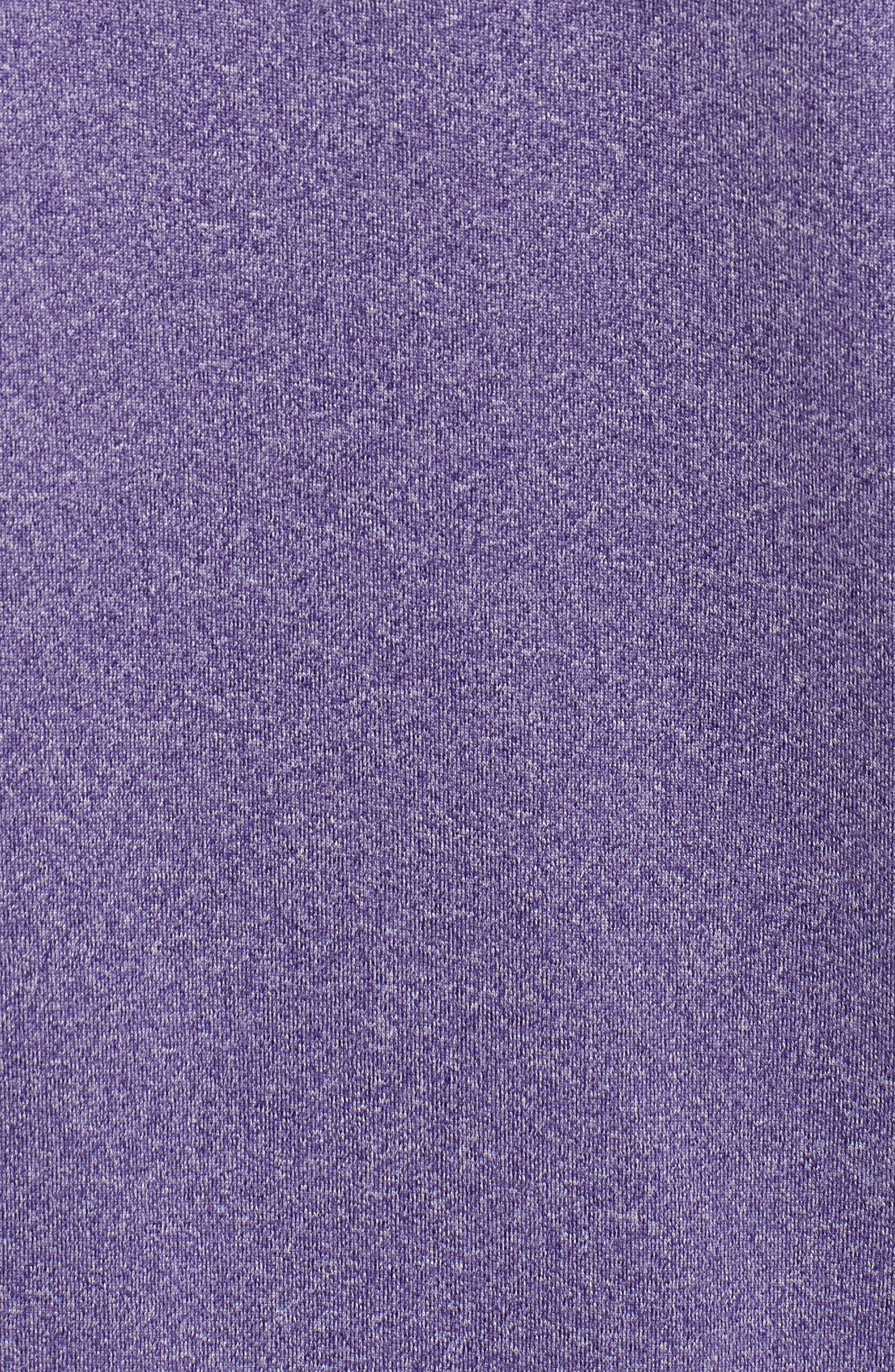 Endurance Baltimore Ravens Regular Fit Pullover,                             Alternate thumbnail 5, color,                             COLLEGE PURPLE HEATHER