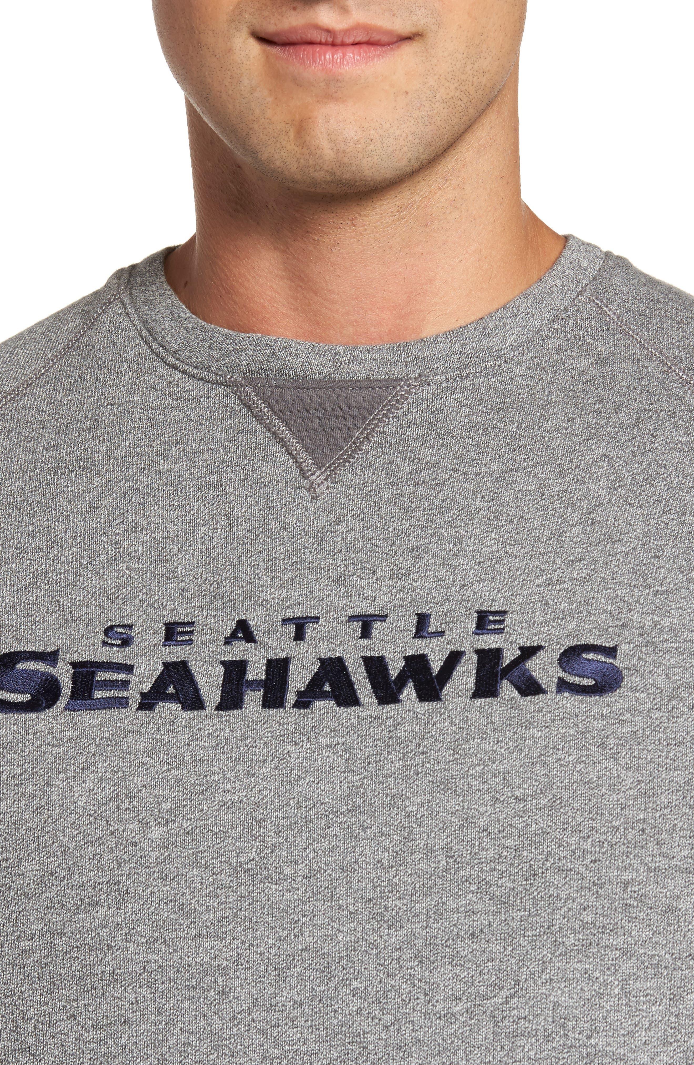 NFL Stitch of Liberty Embroidered Crewneck Sweatshirt,                             Alternate thumbnail 118, color,