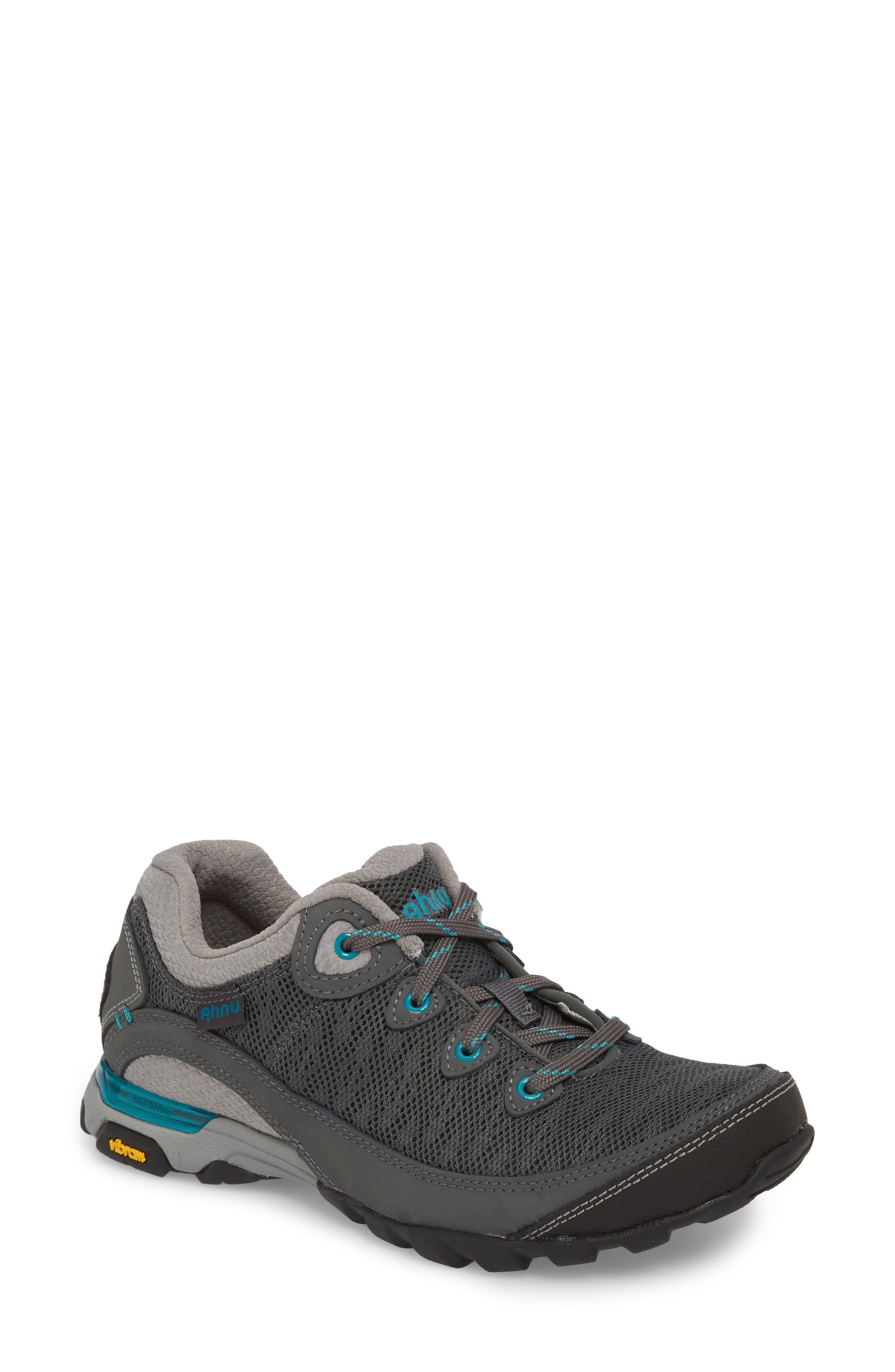 Ahnu by Teva Sugarpine II Air Mesh Hiking Waterproof Sneaker,                             Main thumbnail 1, color,                             025