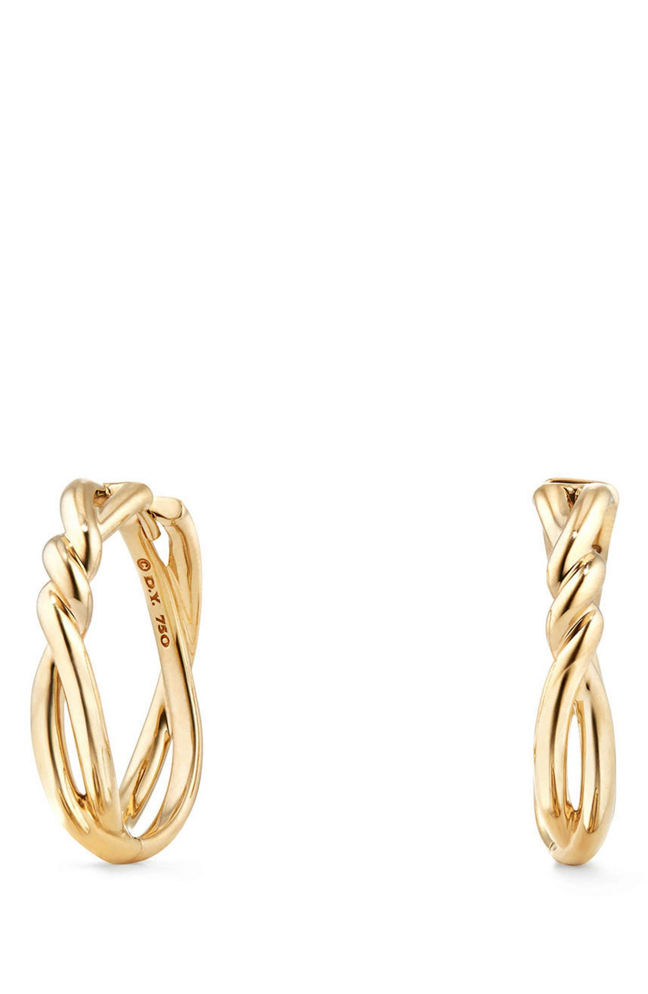Continuance Hoop Earrings,                             Alternate thumbnail 3, color,                             GOLD