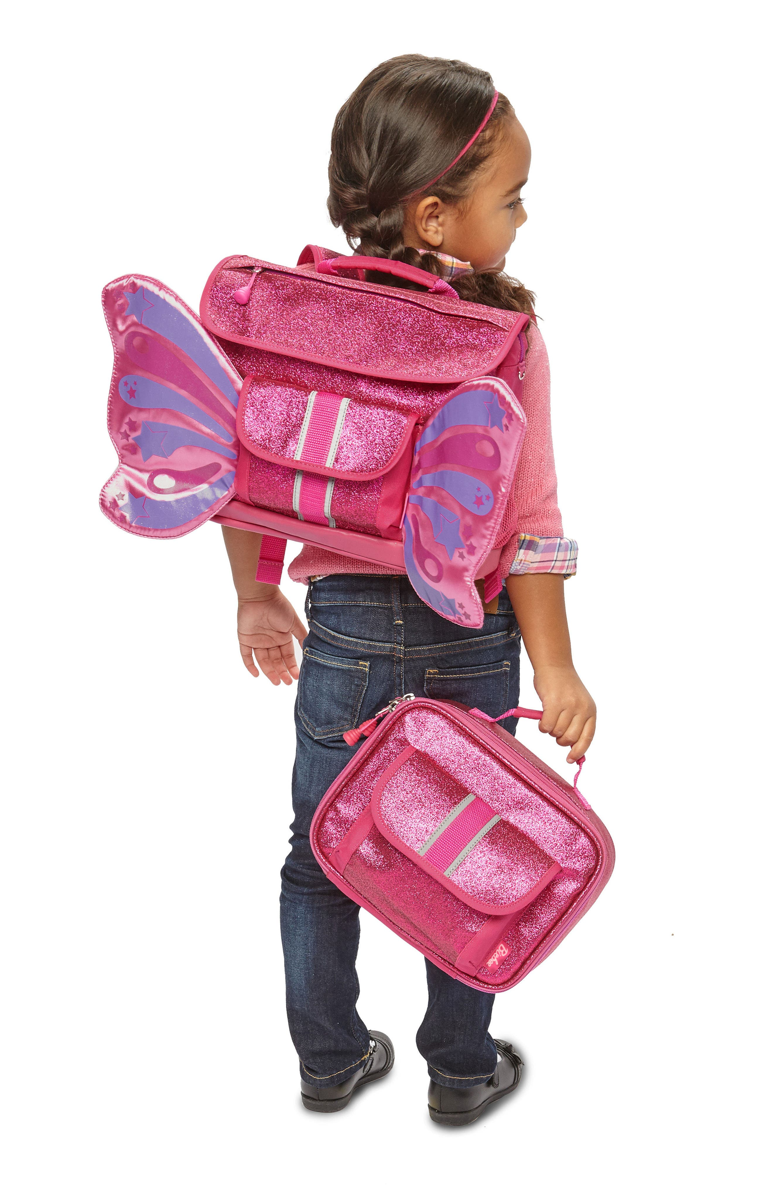 Sparkalicious Butterflyer Backpack,                             Alternate thumbnail 5, color,                             650