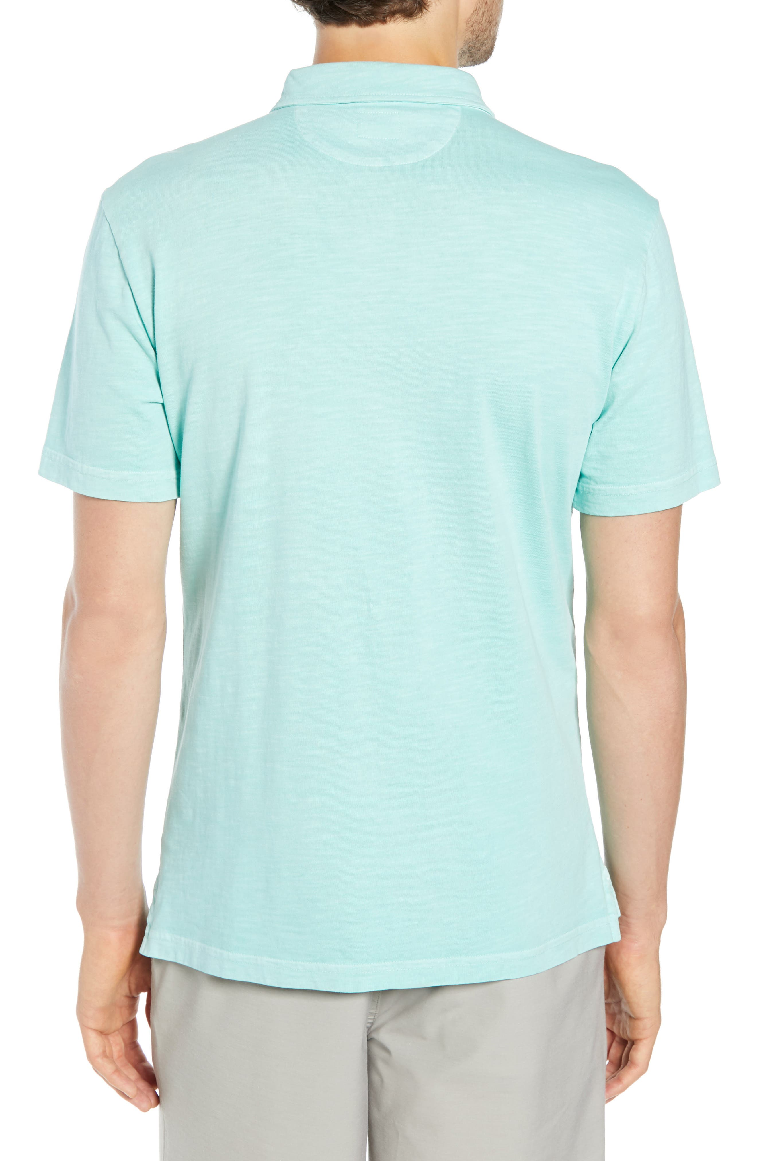 Sunwashed Polo,                             Alternate thumbnail 2, color,                             WATER BLUE