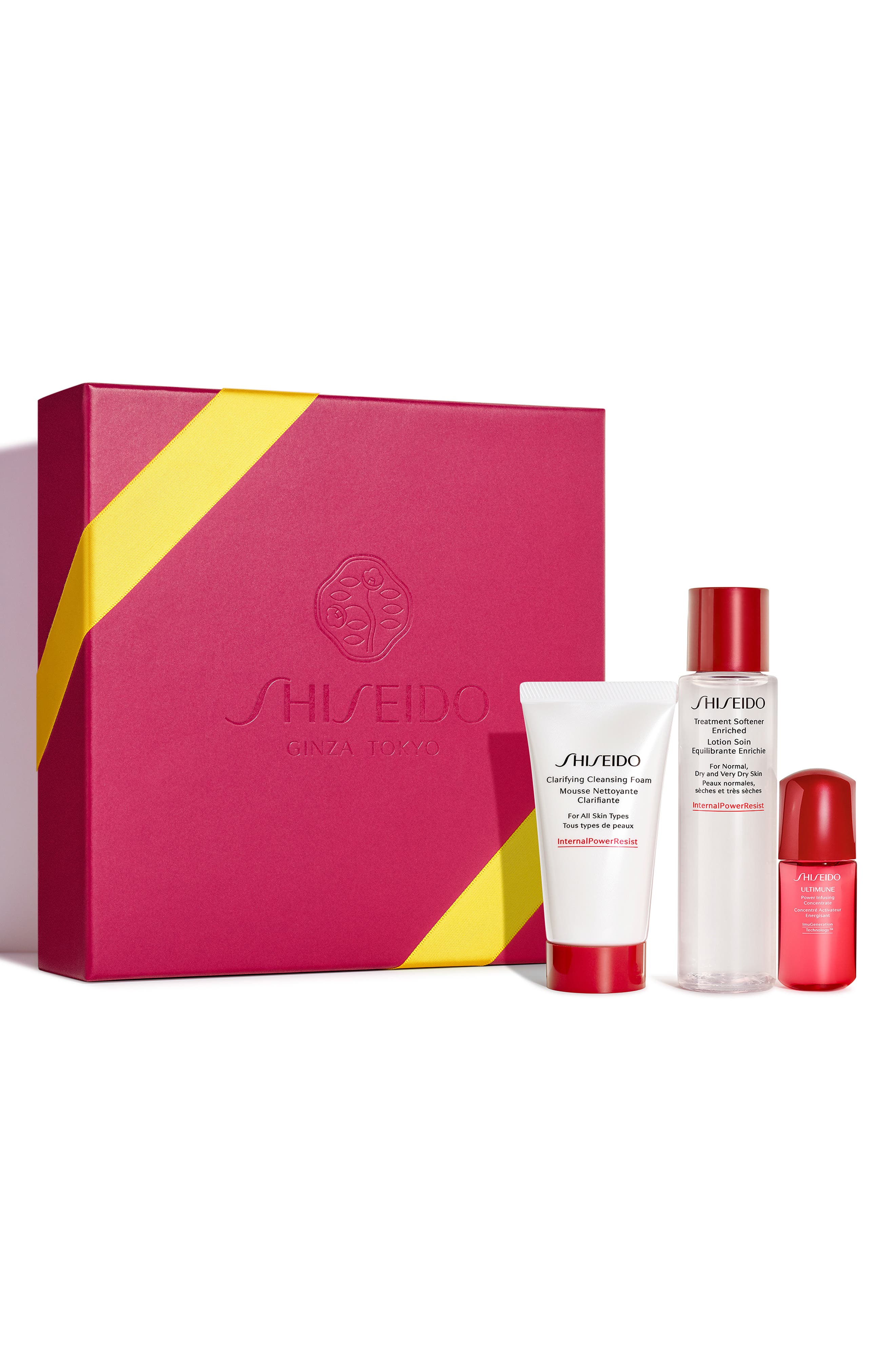 Shisiedo The Gift of Cleansing Essentials Set,                             Alternate thumbnail 2, color,                             000