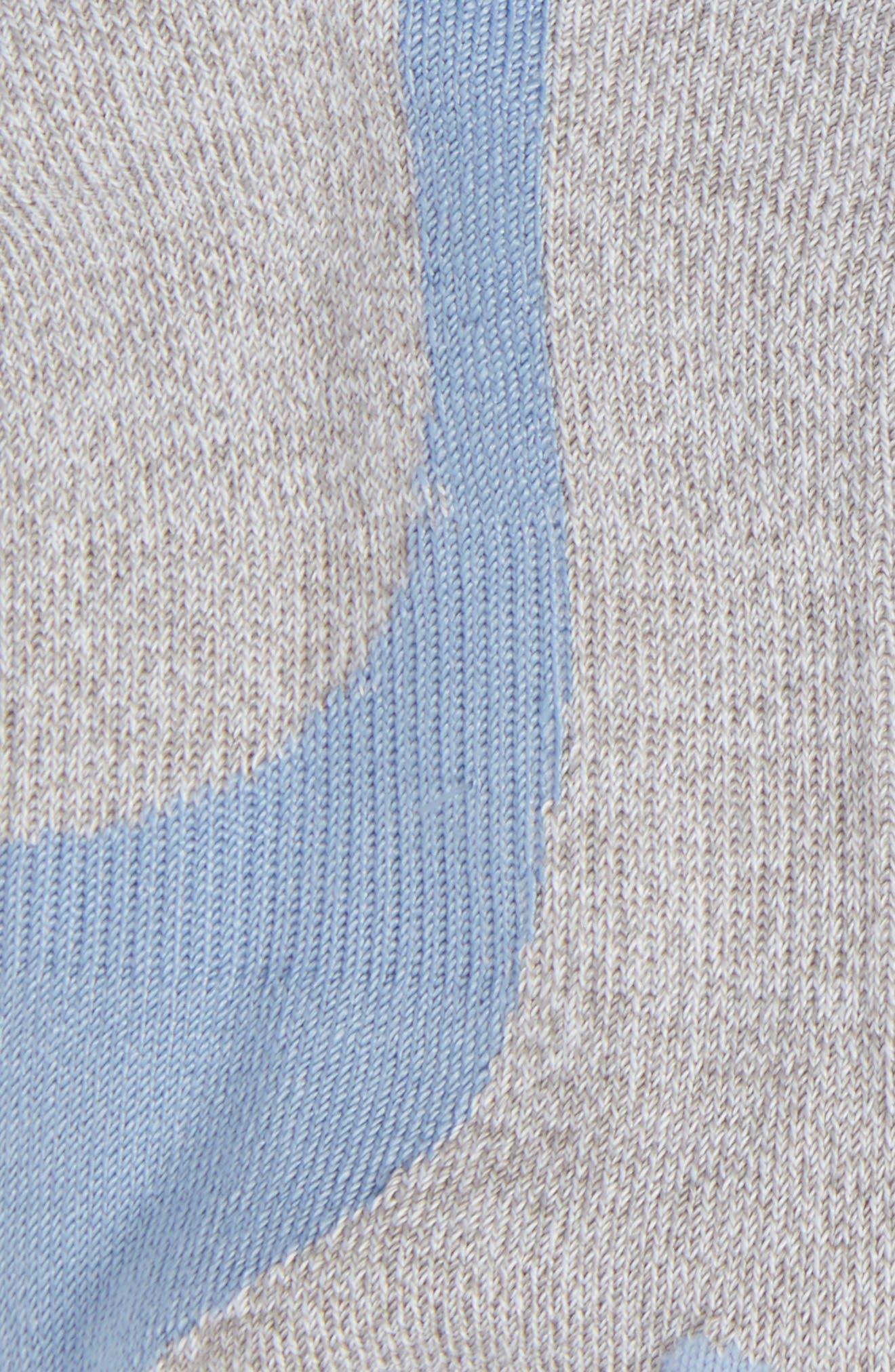 6-Pack No-Show Socks,                             Alternate thumbnail 3, color,                             035