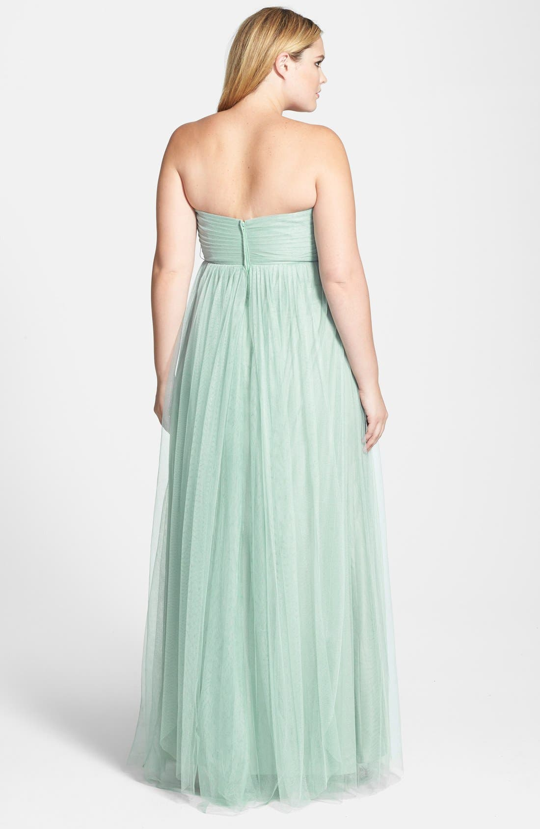 Annabelle Convertible Tulle Column Dress,                             Alternate thumbnail 54, color,