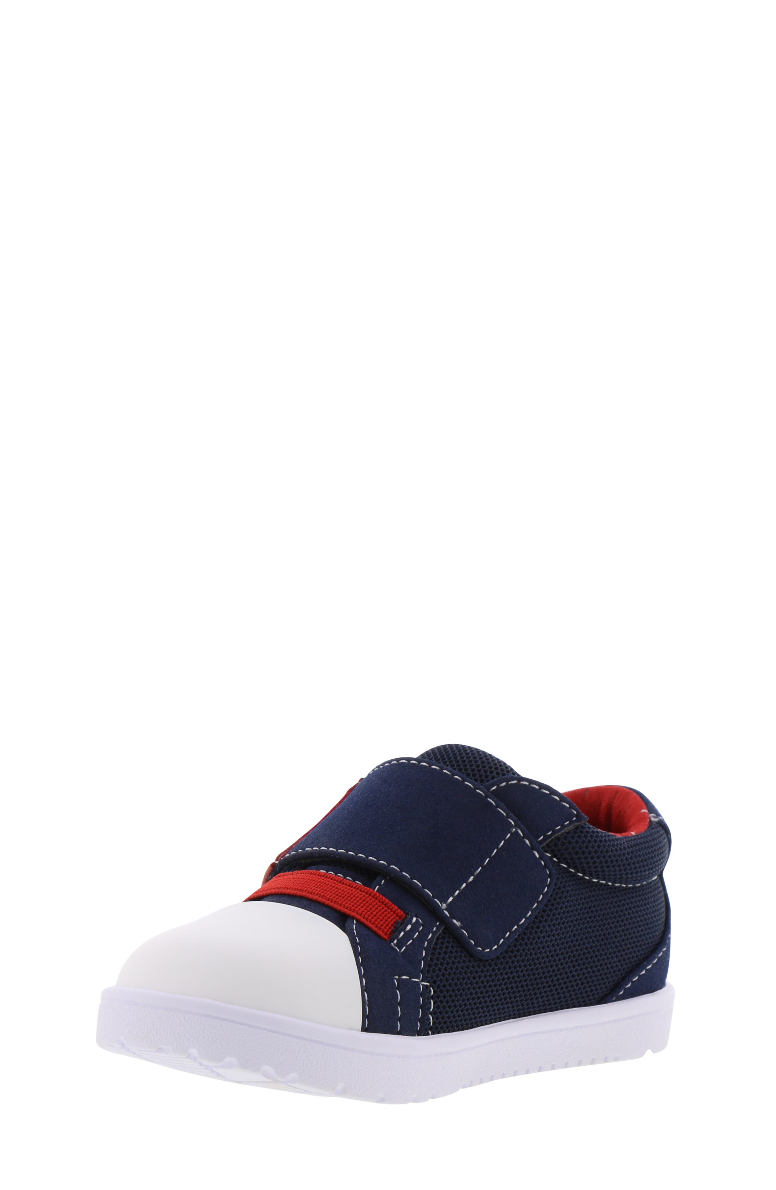 BØRN,                             Bailey Clark Sneaker,                             Alternate thumbnail 9, color,                             NAVY
