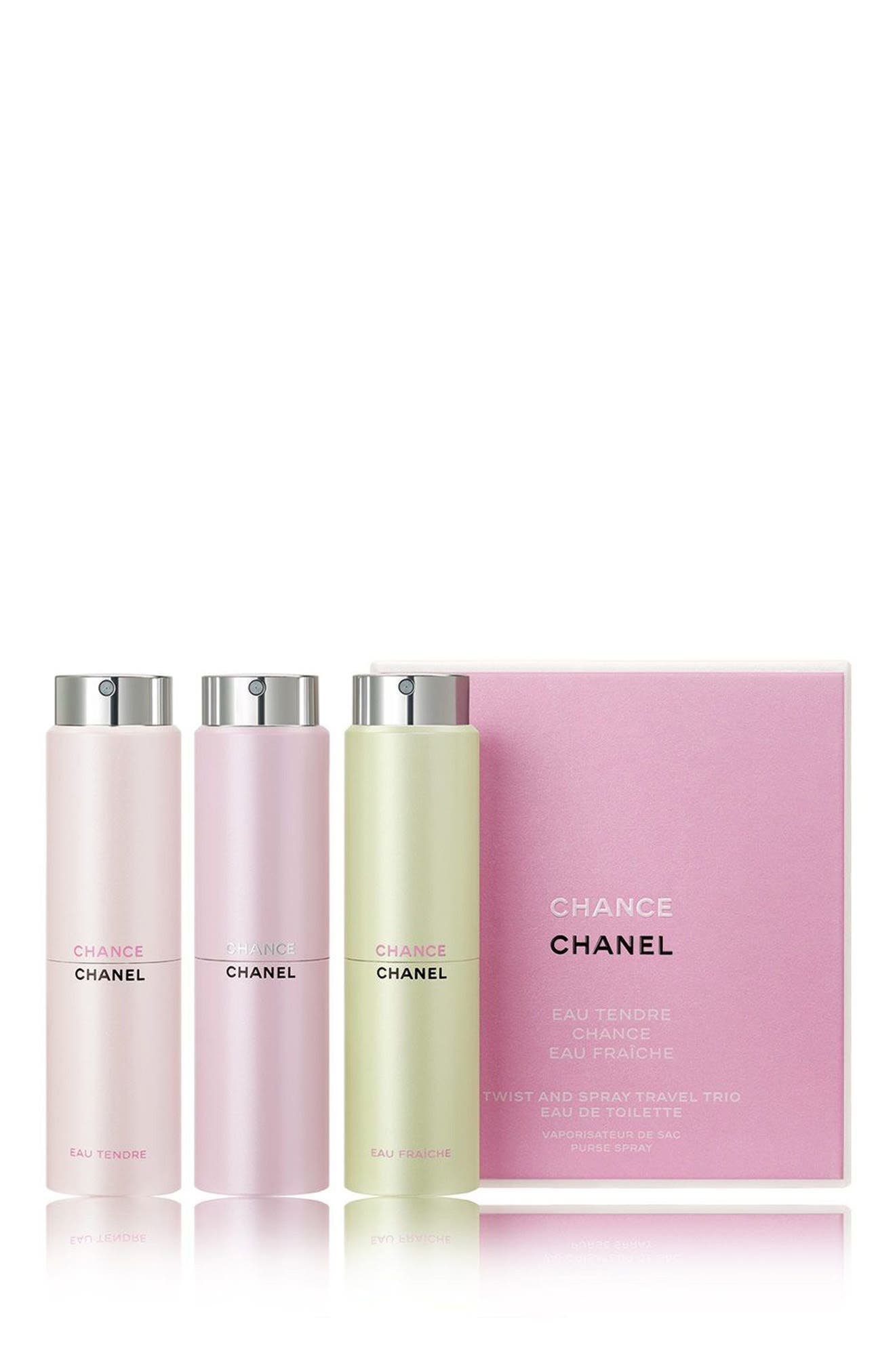 CHANCE<br />Twist & Spray Trio,                         Main,                         color, 000