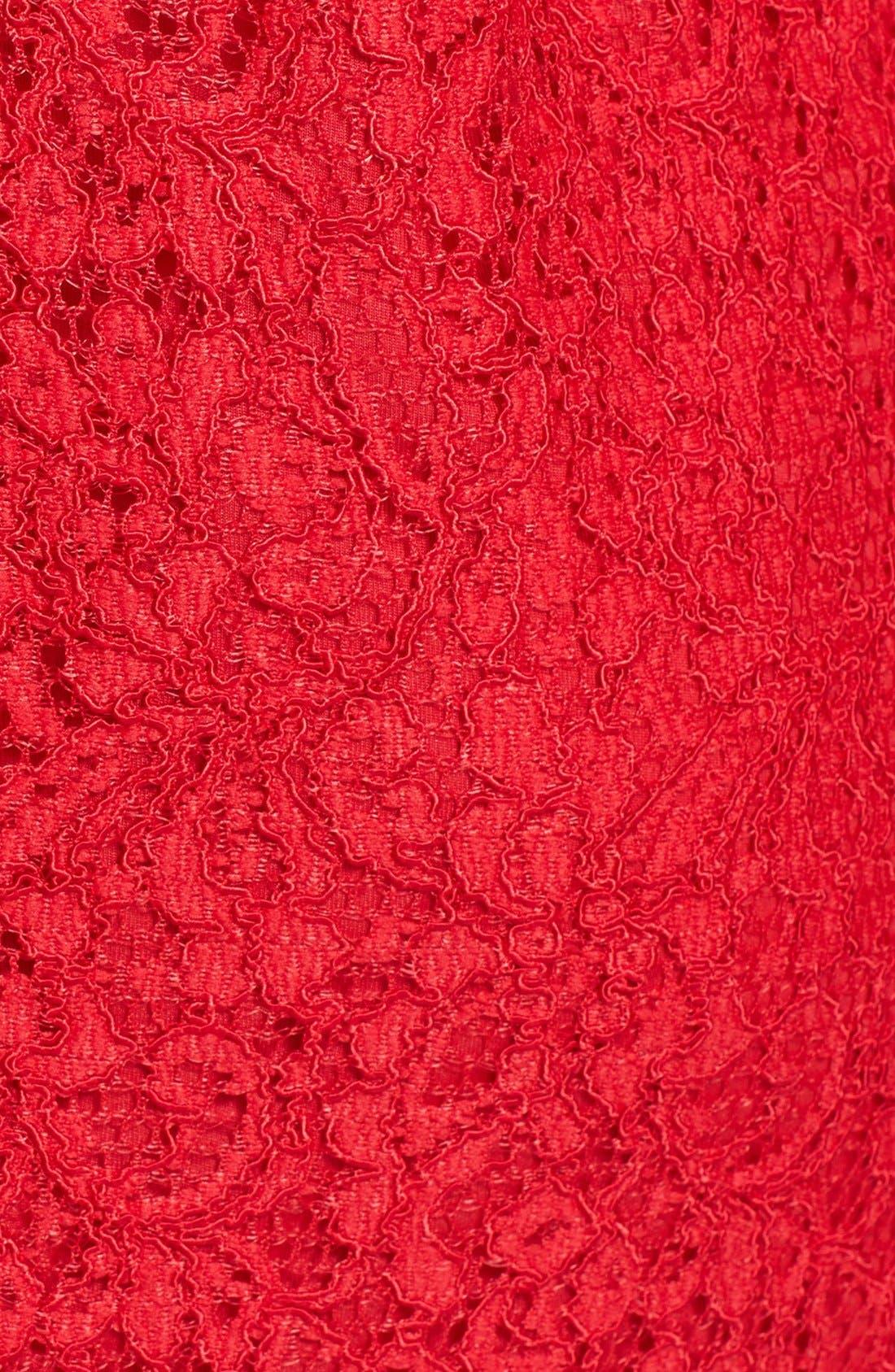 Boatneck Lace Sheath Dress,                             Alternate thumbnail 54, color,