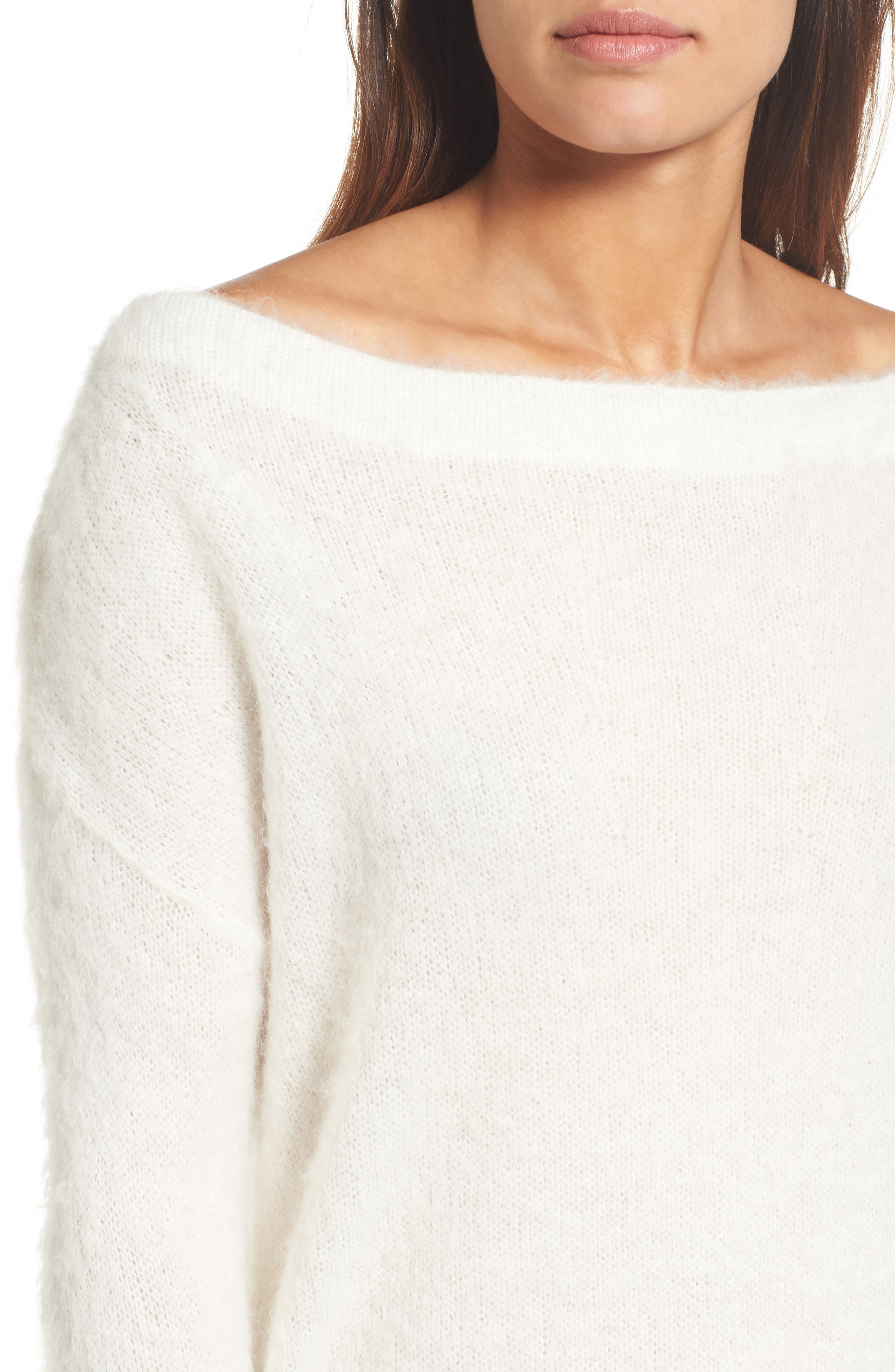 Long Sleeve Brushed Sweater,                             Alternate thumbnail 23, color,