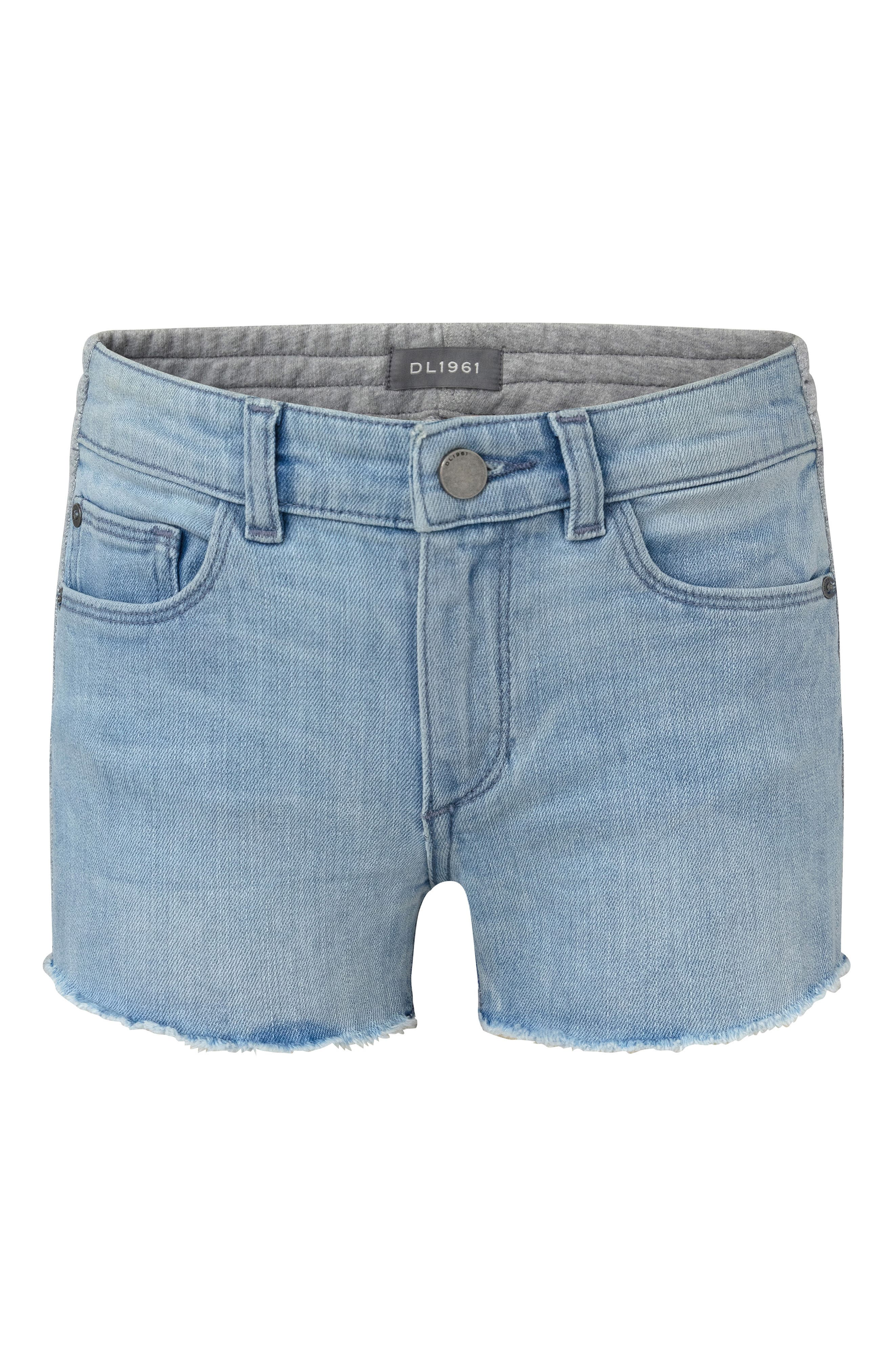 Girls Dl1961 Denimknit Shorts Size 45  Blue