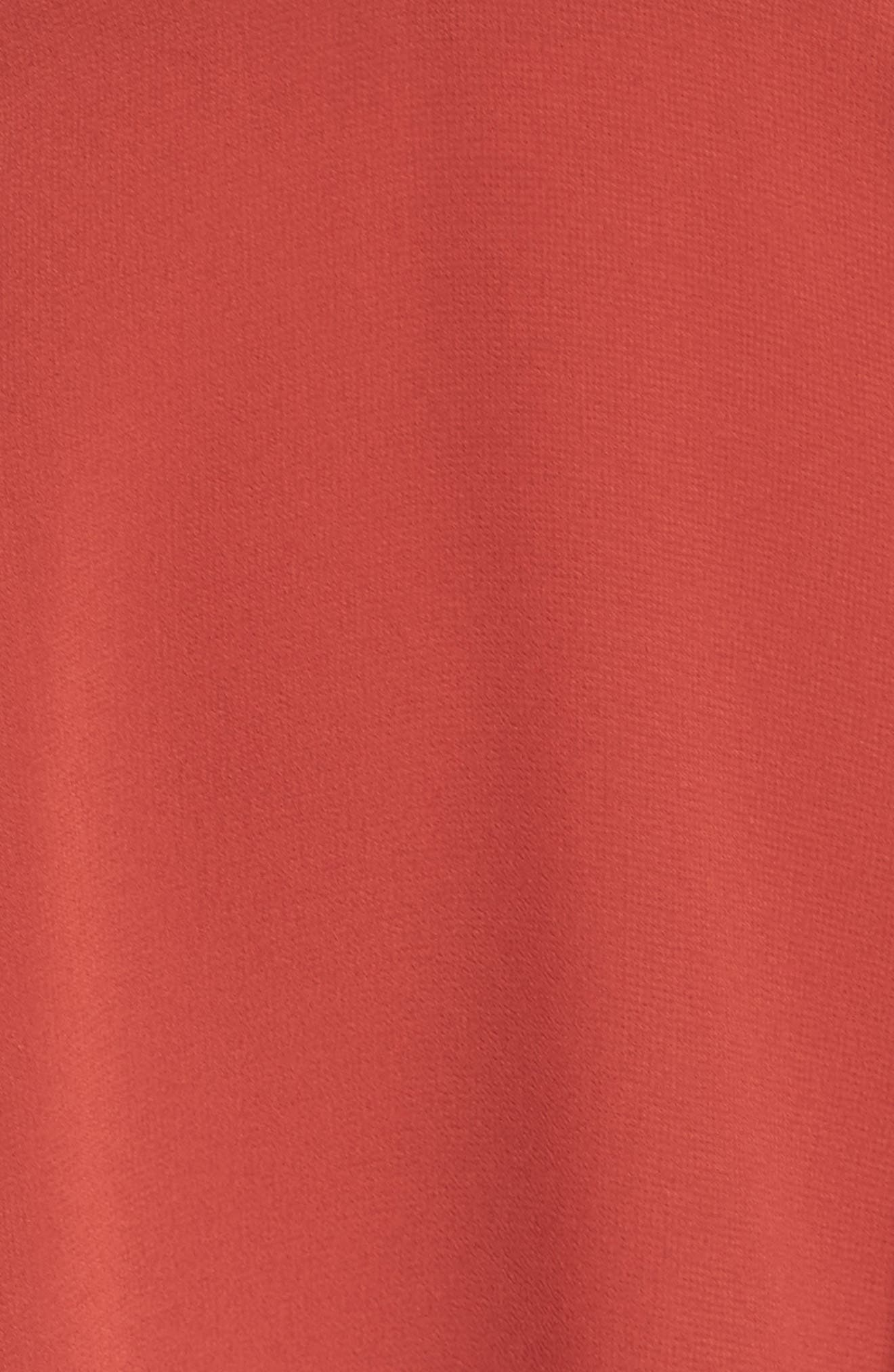 El Cid Tie Front Minidress,                             Alternate thumbnail 5, color,