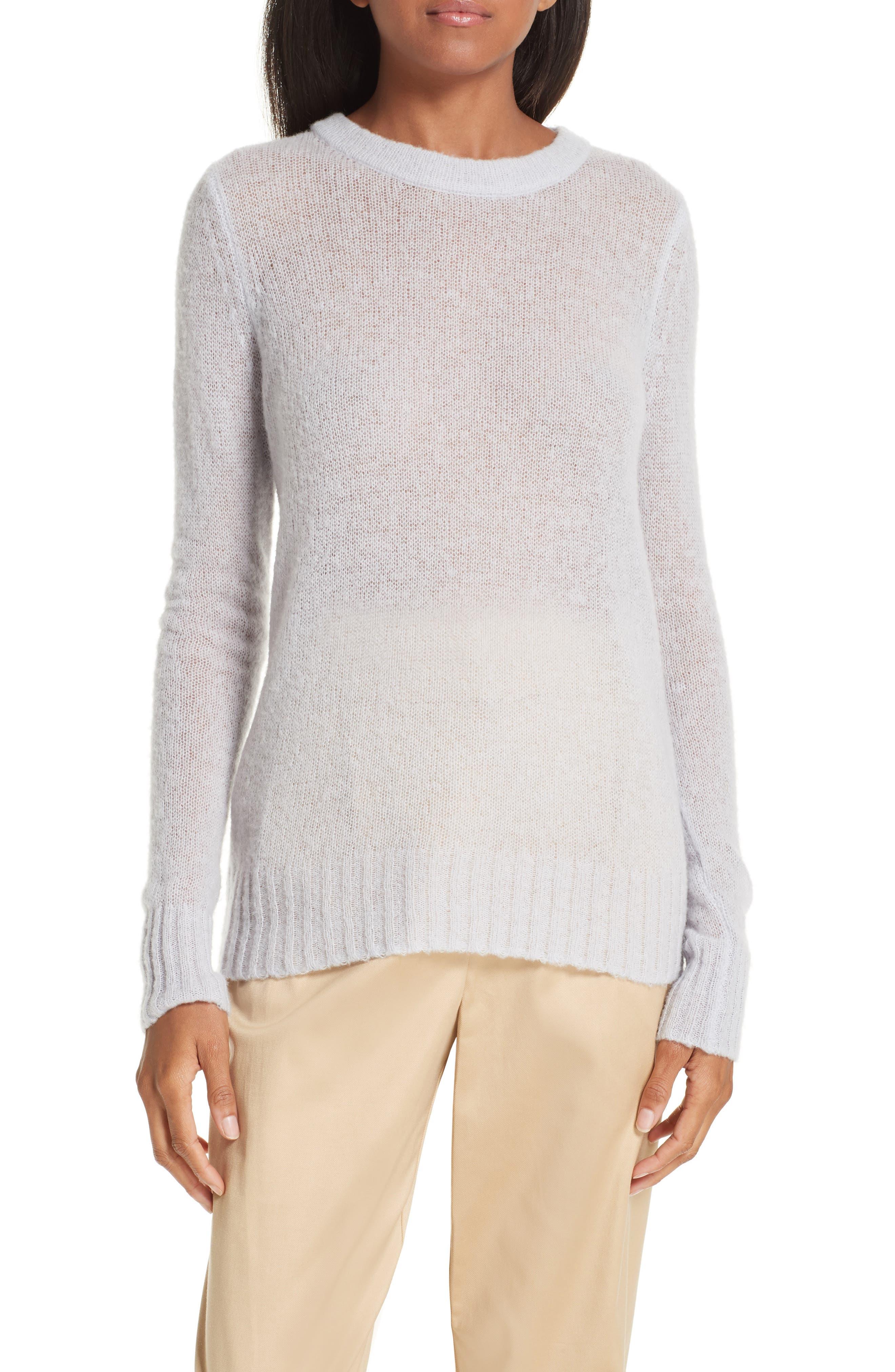 GREY JASON WU Wool Blend Sweater in Wisteria