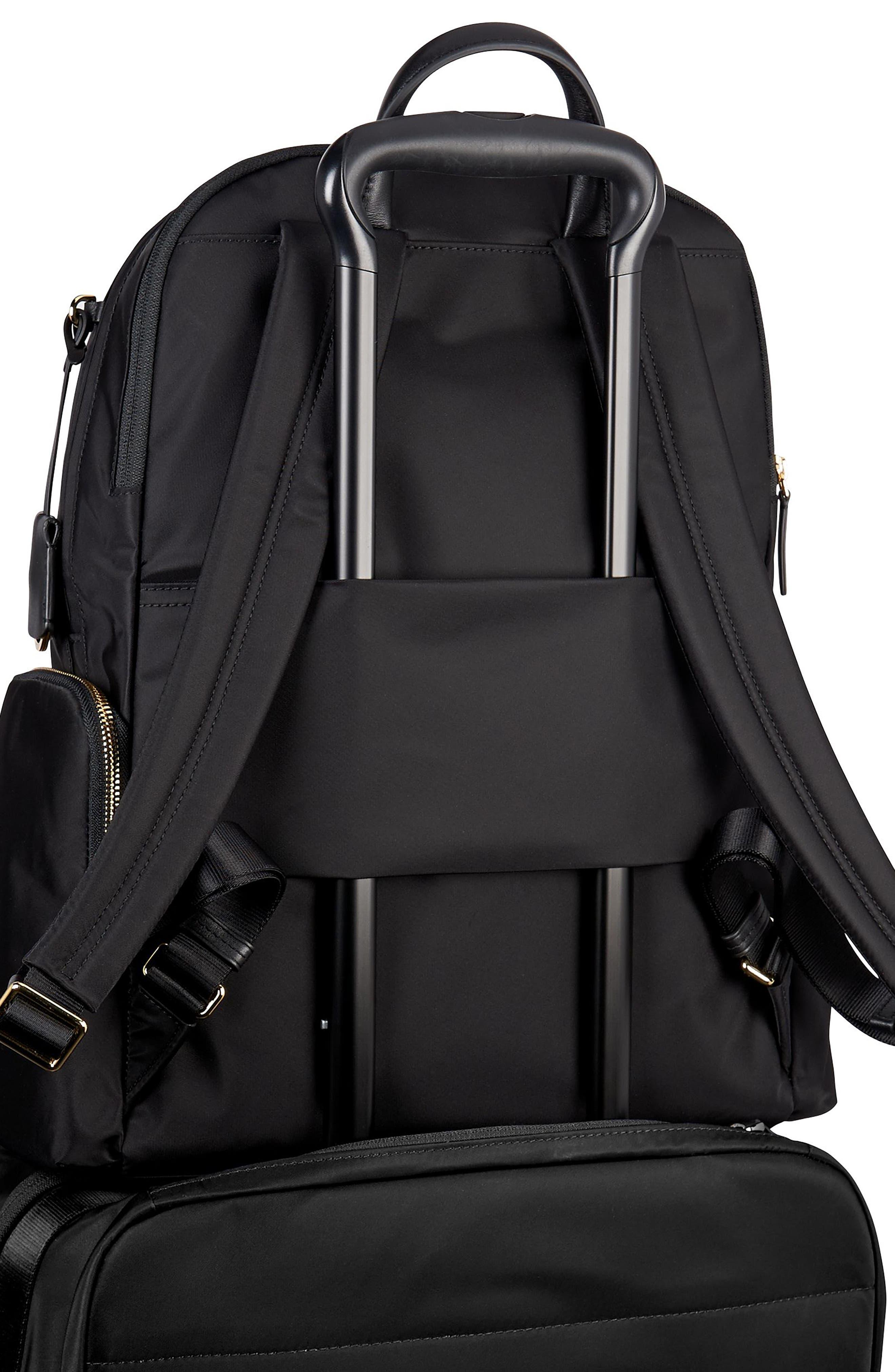 Voyager Carson Nylon Backpack,                             Alternate thumbnail 6, color,                             001