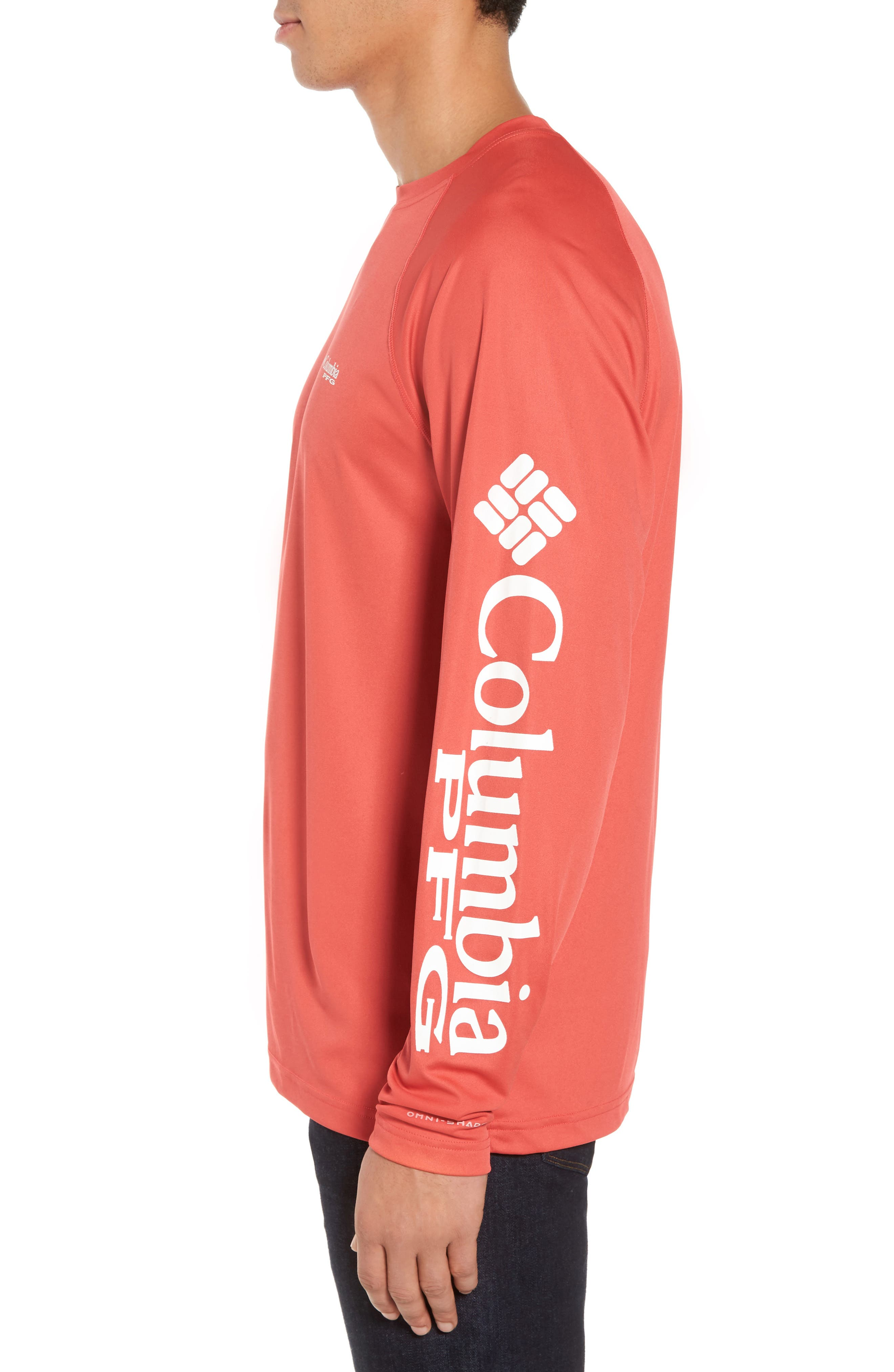 PFG Terminal Tackle Performance Long Sleeve T-Shirt,                             Alternate thumbnail 24, color,