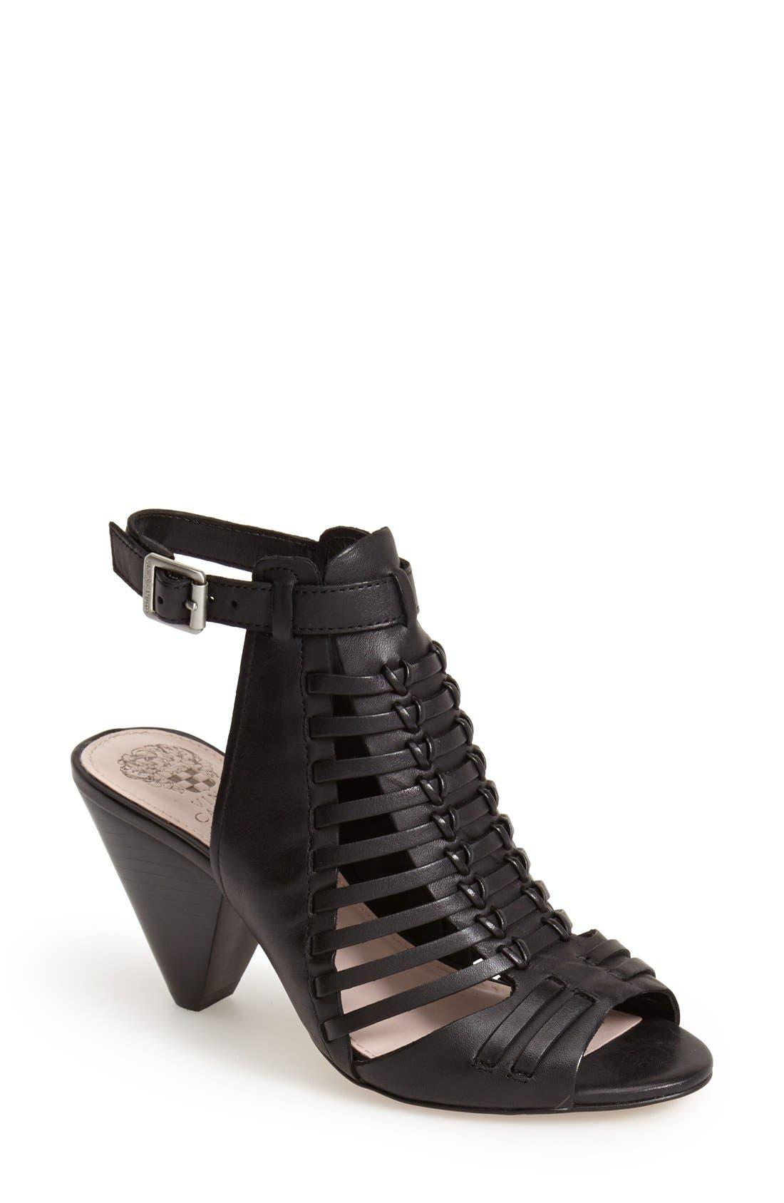 'Effel' Sandal,                         Main,                         color, 001