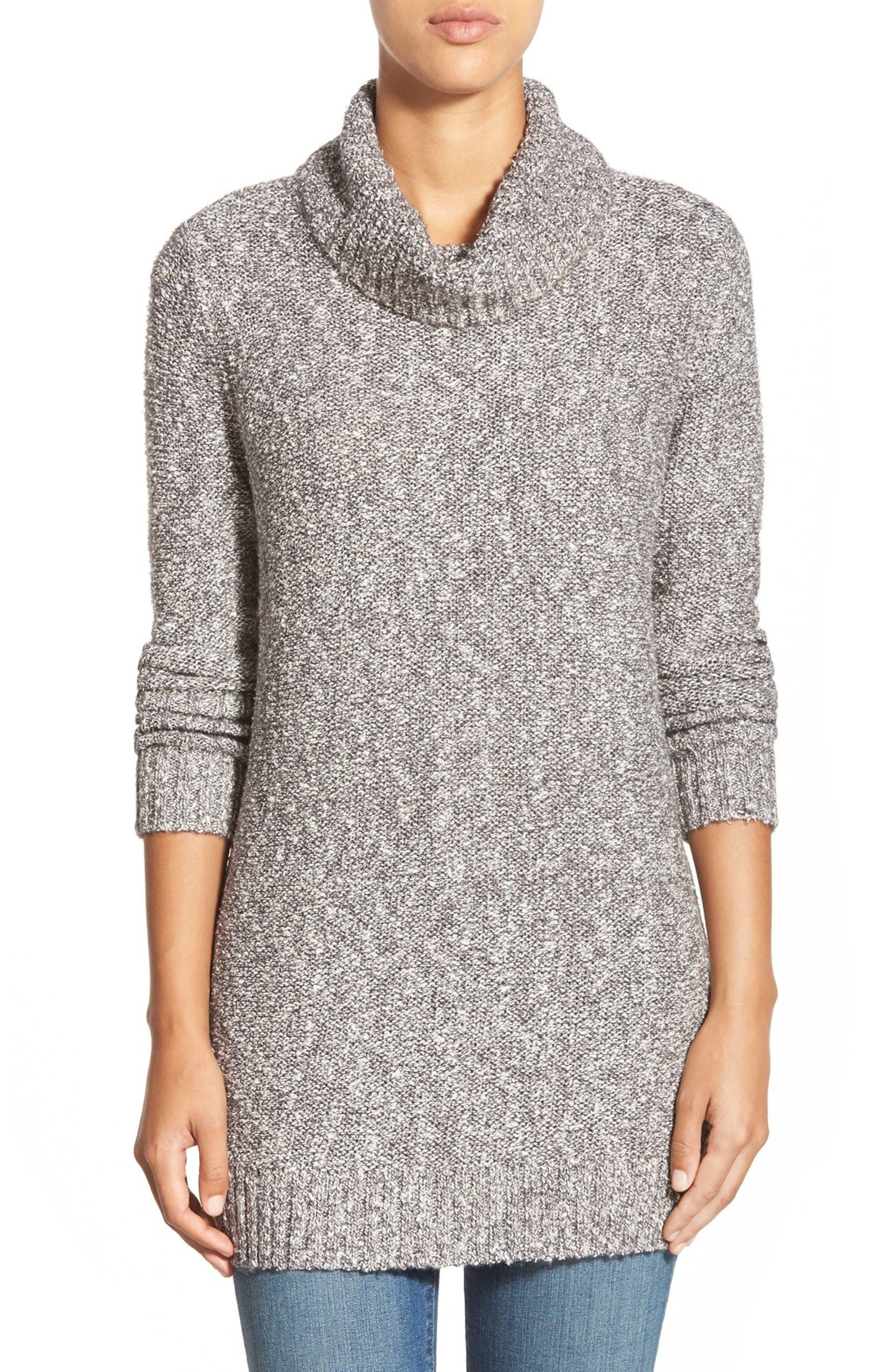 3b4f18a6c Caslon® Turtleneck Tunic Sweater (Regular   Petite)
