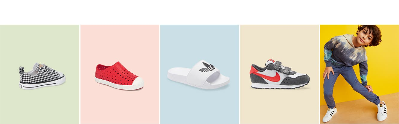 Boys' shoes for spring.